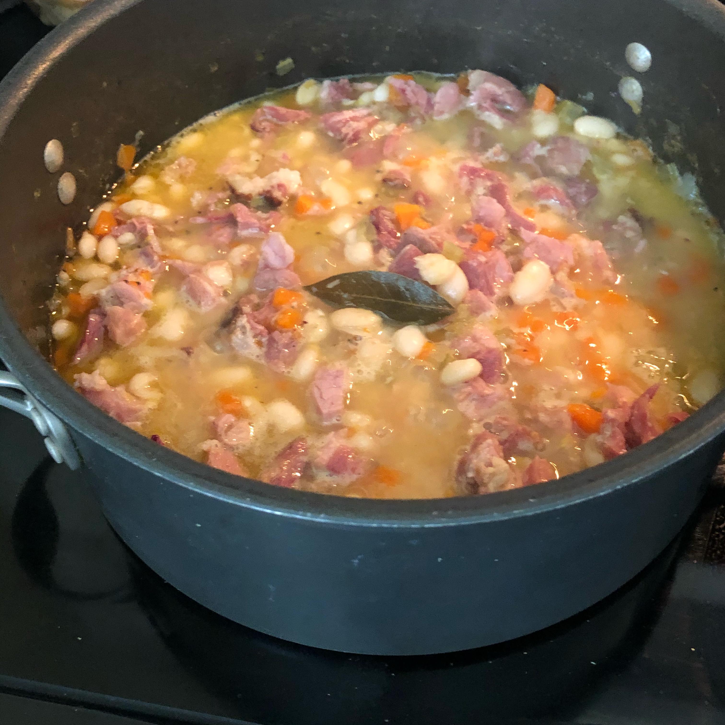 Mom's Ham and Bean Soup Kat Jurewicz