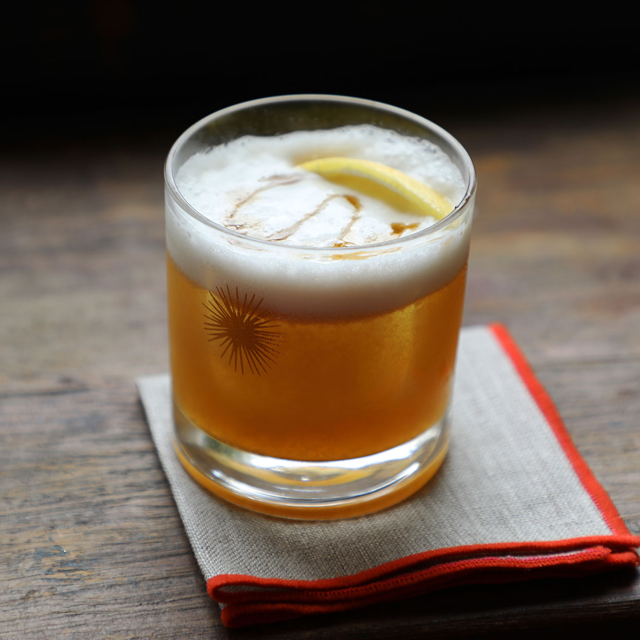 If you're looking for an easy happy hour recipe, but feeling a little limited on ingredients, we've got a bit of good news: you don't have to have a fully stocked bar to turn out a delicious whiskey sour. Hopefully, you've got a little whiskey or bourbon lying around, a bit of maple syrup and fresh citrus. And if you're really looking to elevate your beverage, add some aquafaba to the mix. While not necessary, it stands in for the traditional egg white to create a lovely layer of foam at the top. Source: EatingWell.com, April 2020