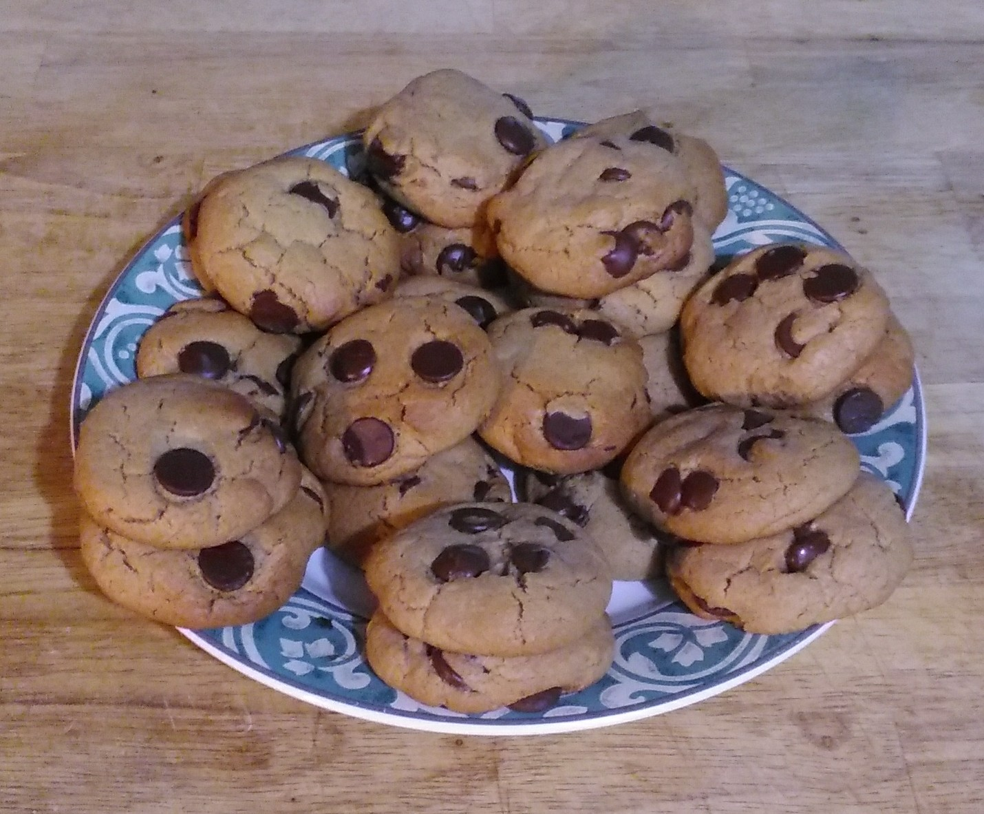 Chewy Peanut Butter Chocolate Chip Cookies Lisa Brady