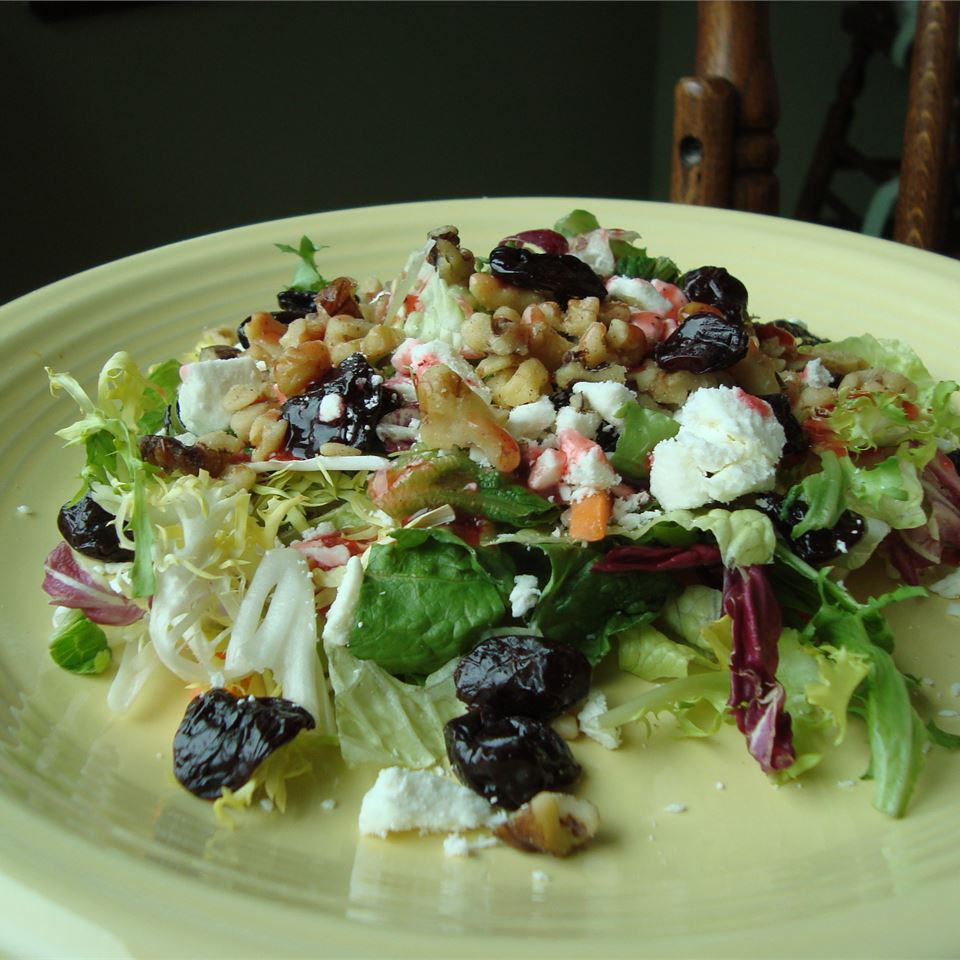 California Cherry and Walnut Salad Paula
