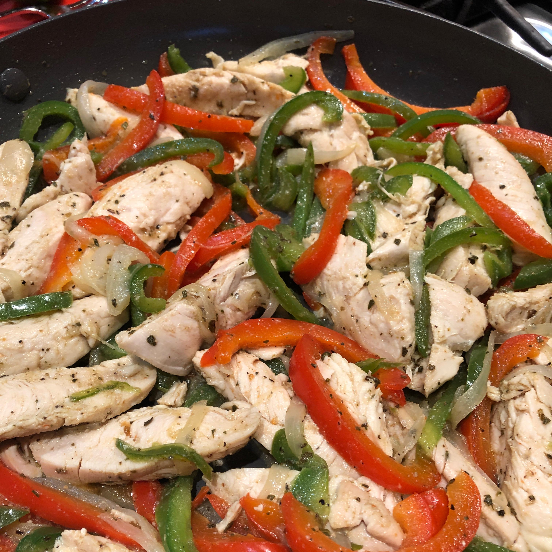 Chicken Fajitas from Mazola® Sherry Issenwasser Frank