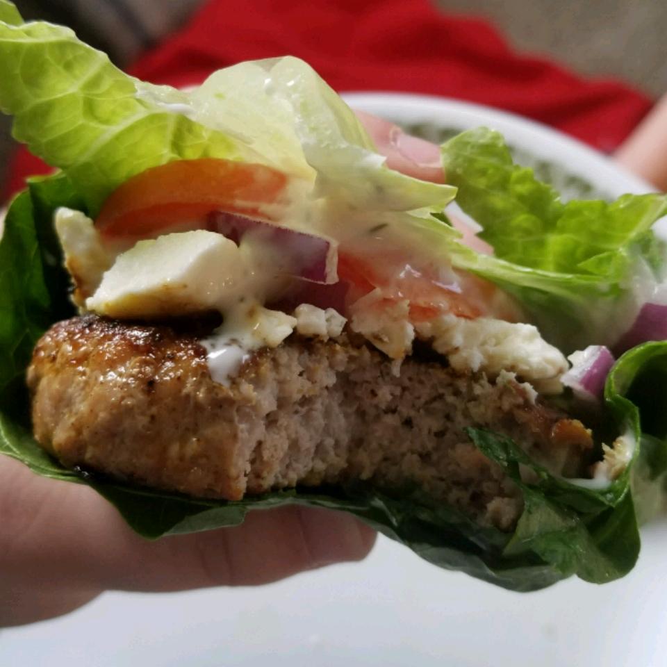 Greek Turkey Burgers Stacey Tesdall