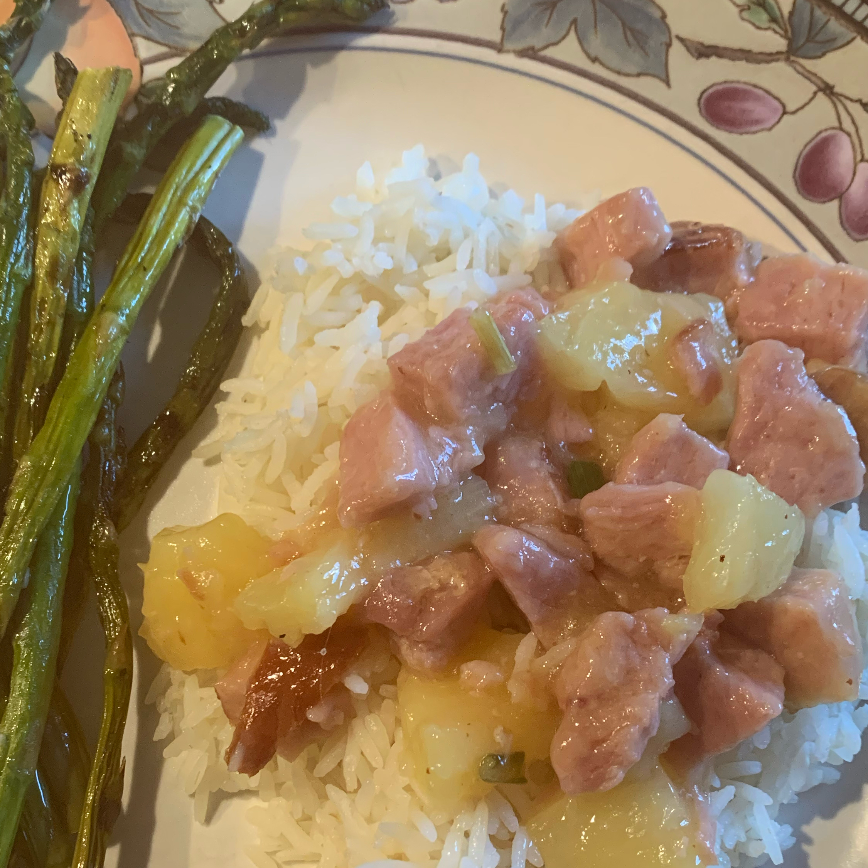 Ham and Pineapple Dinner Tee Shee