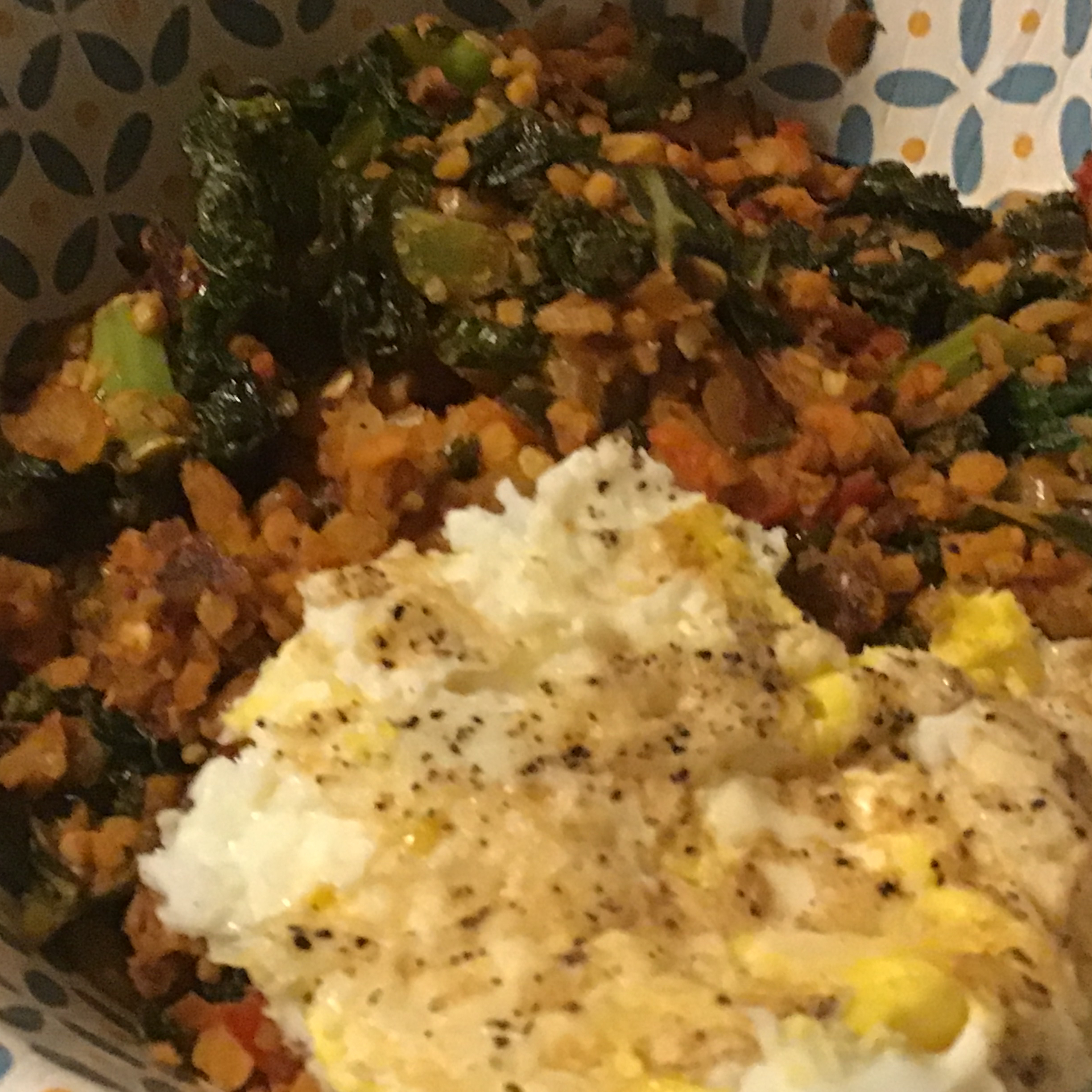 Cauliflower and Sweet Potato Hash Jolandra Taylor