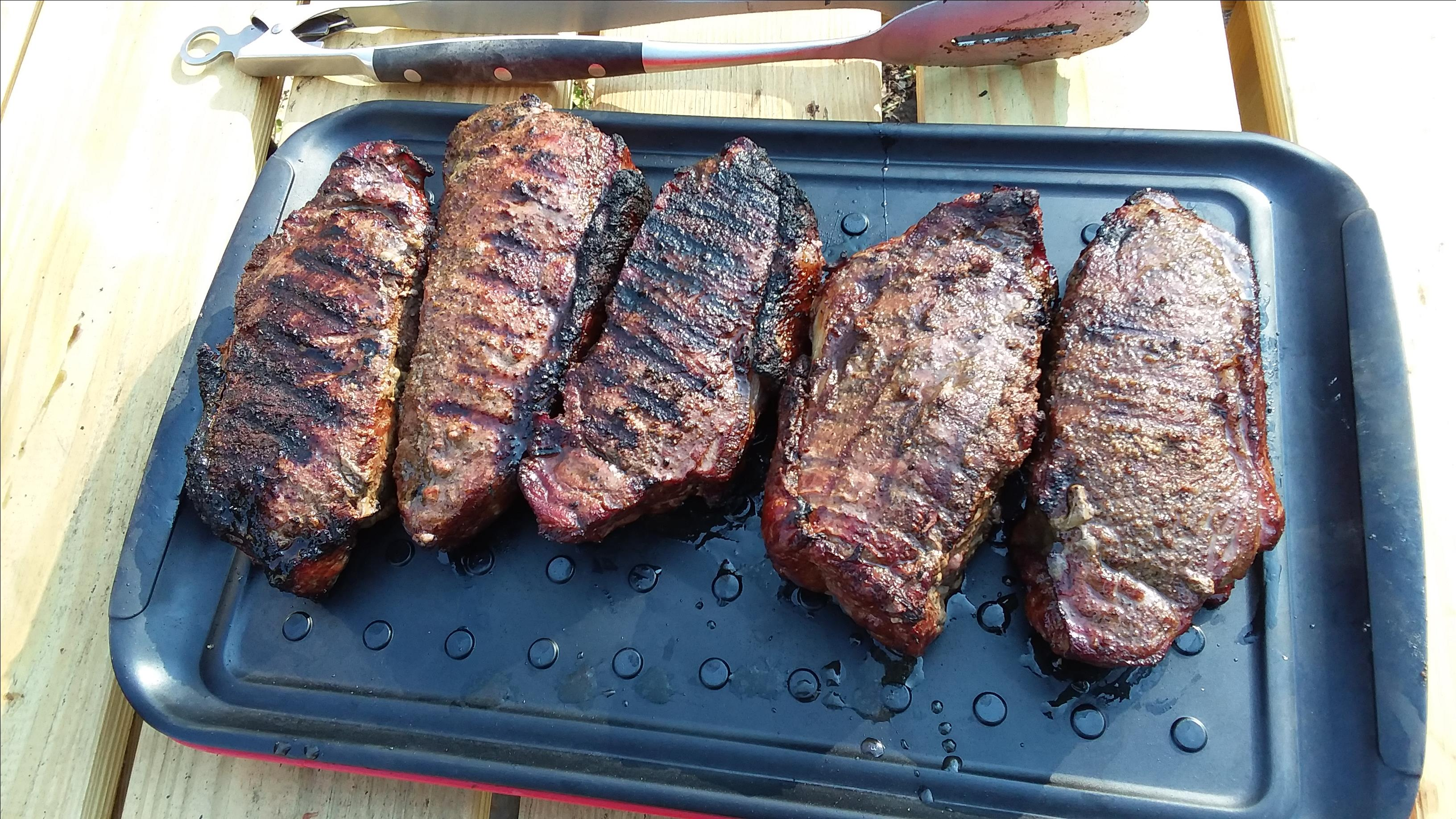 Grilling Thick Steaks - The Reverse Sear Jim Calkins
