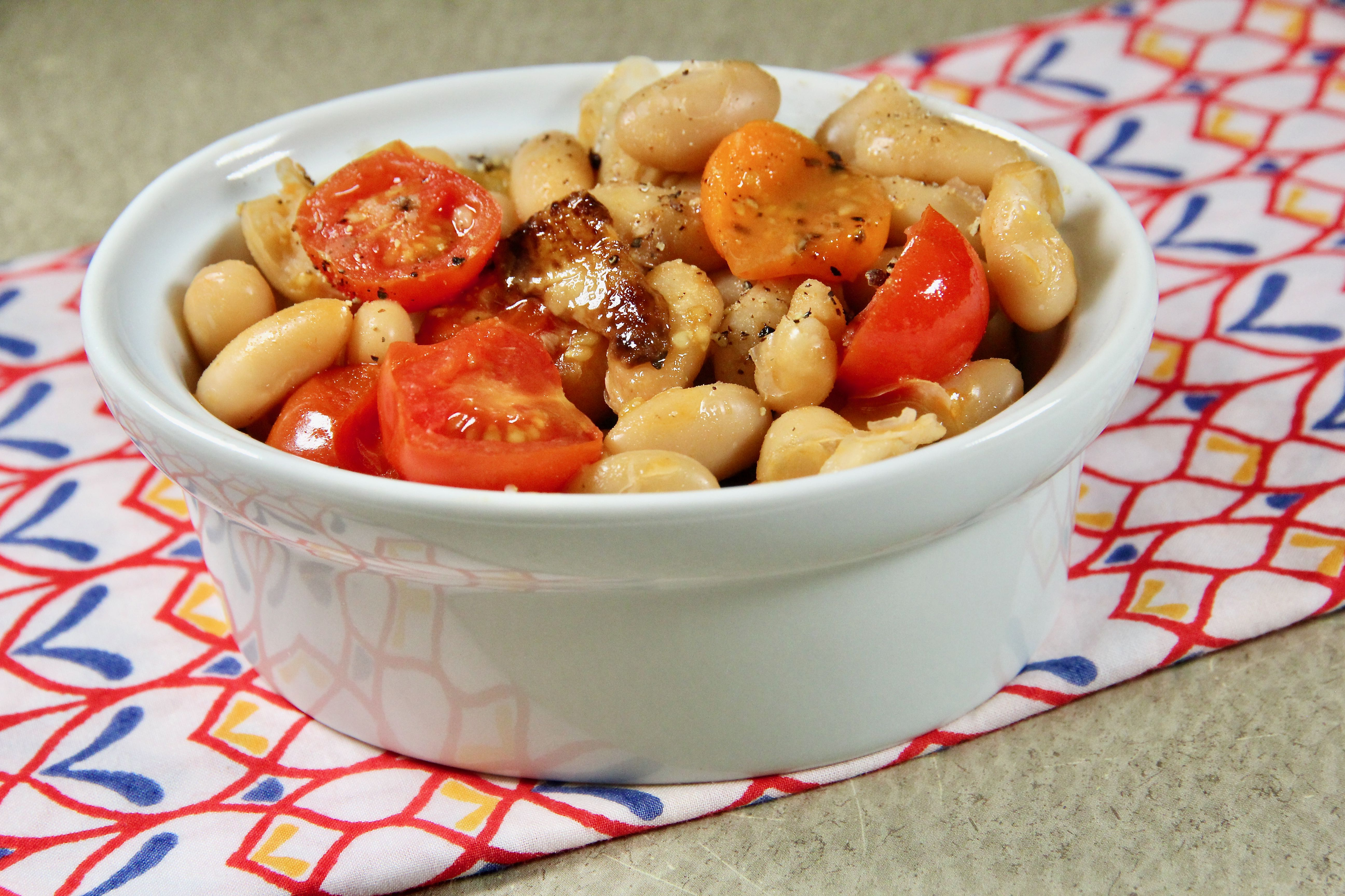 Tomatoes and Beans