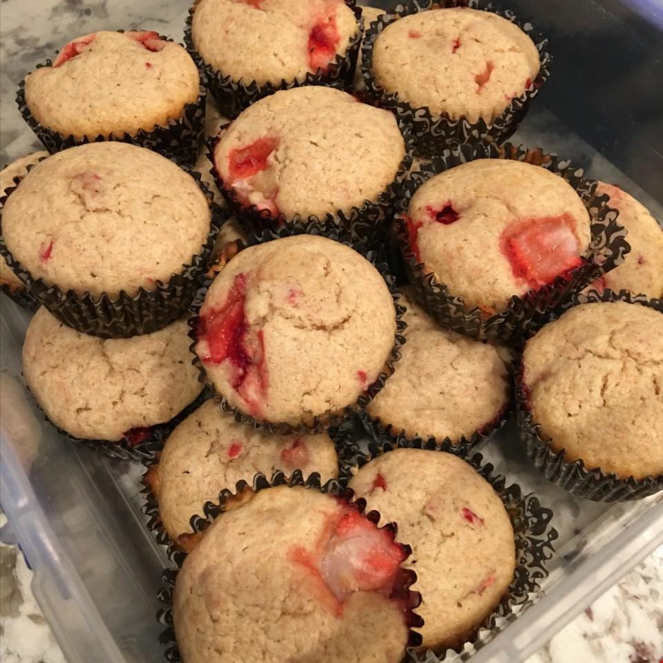 Strawberry Lemon Muffins MARMARL