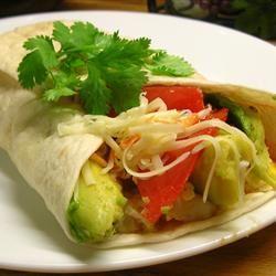 Avocado and Egg Breakfast Burrito *Sherri*