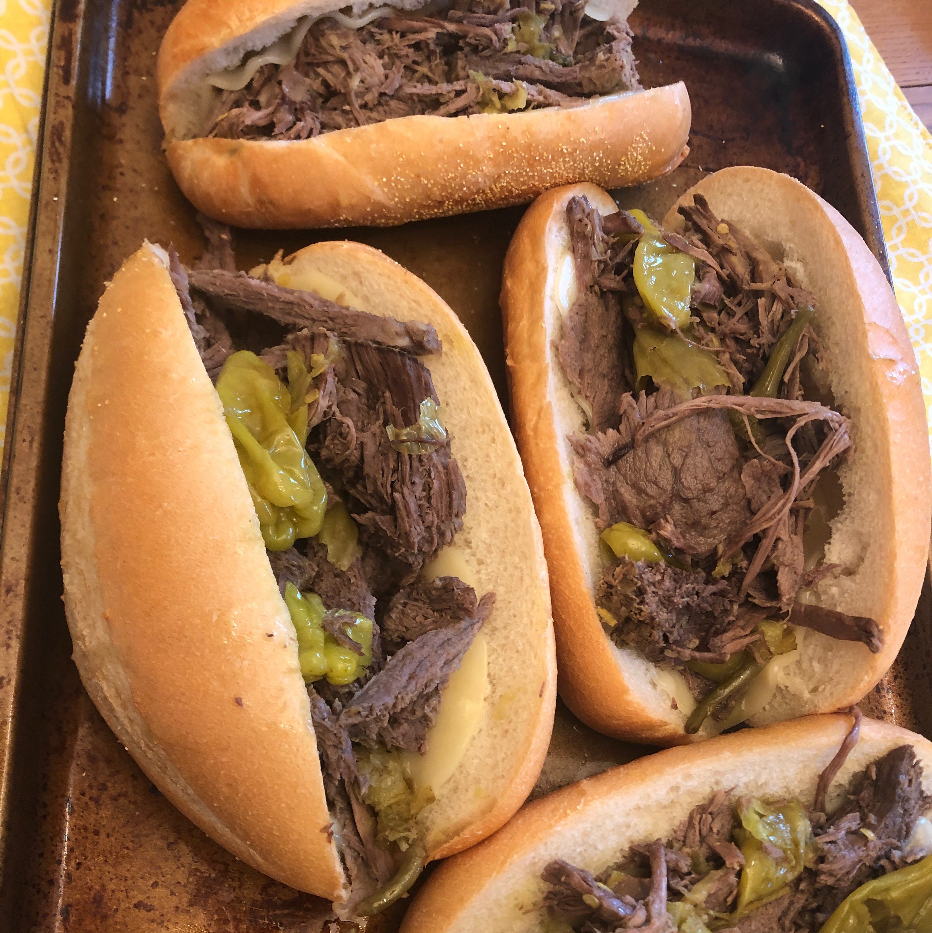 Italian Beef for Sandwiches Jenny Page