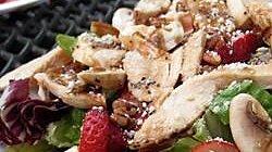 Spicy Strawberry Salad