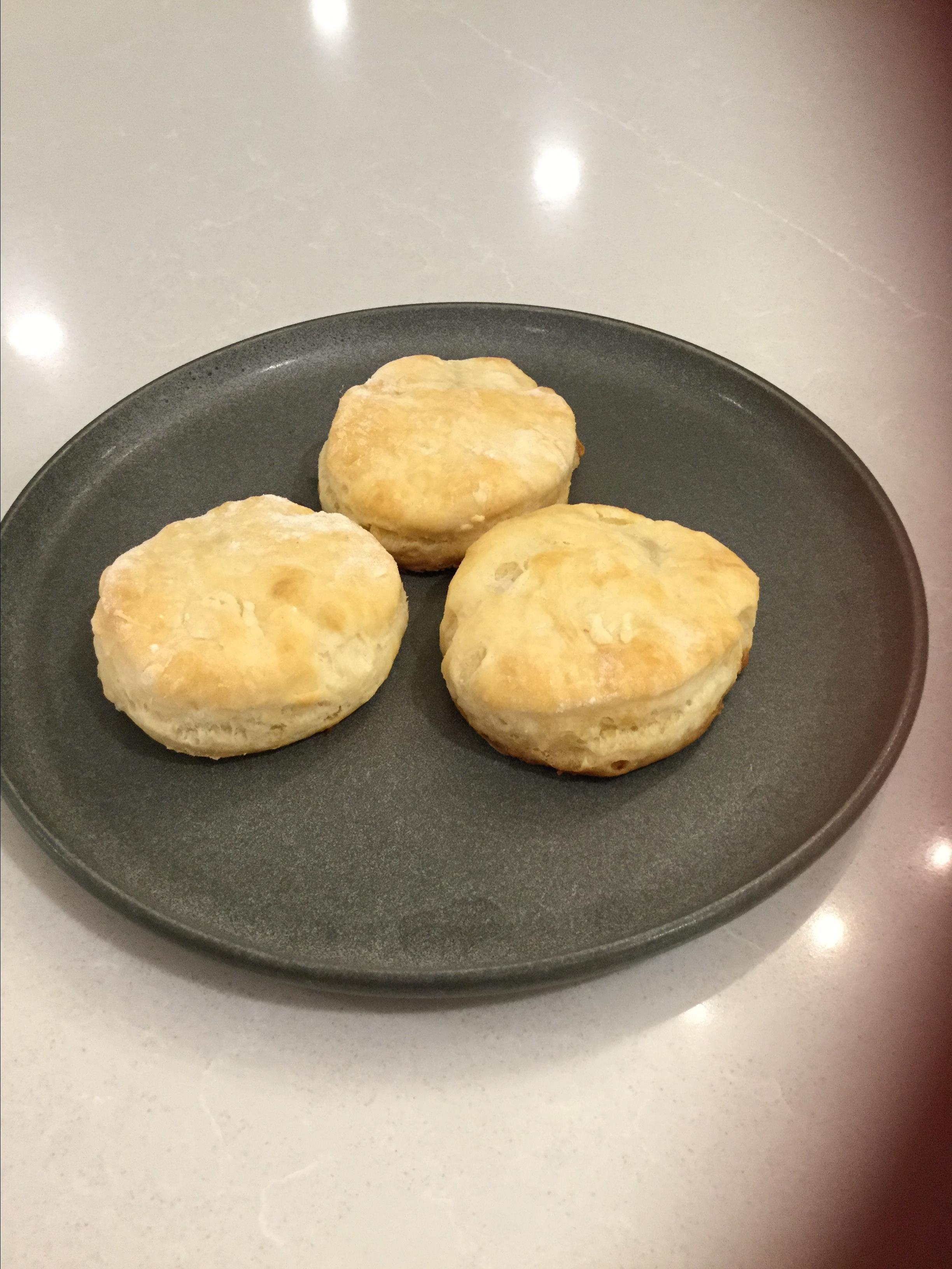 Fluffy Sour Cream Biscuits Kelly Woodhouse