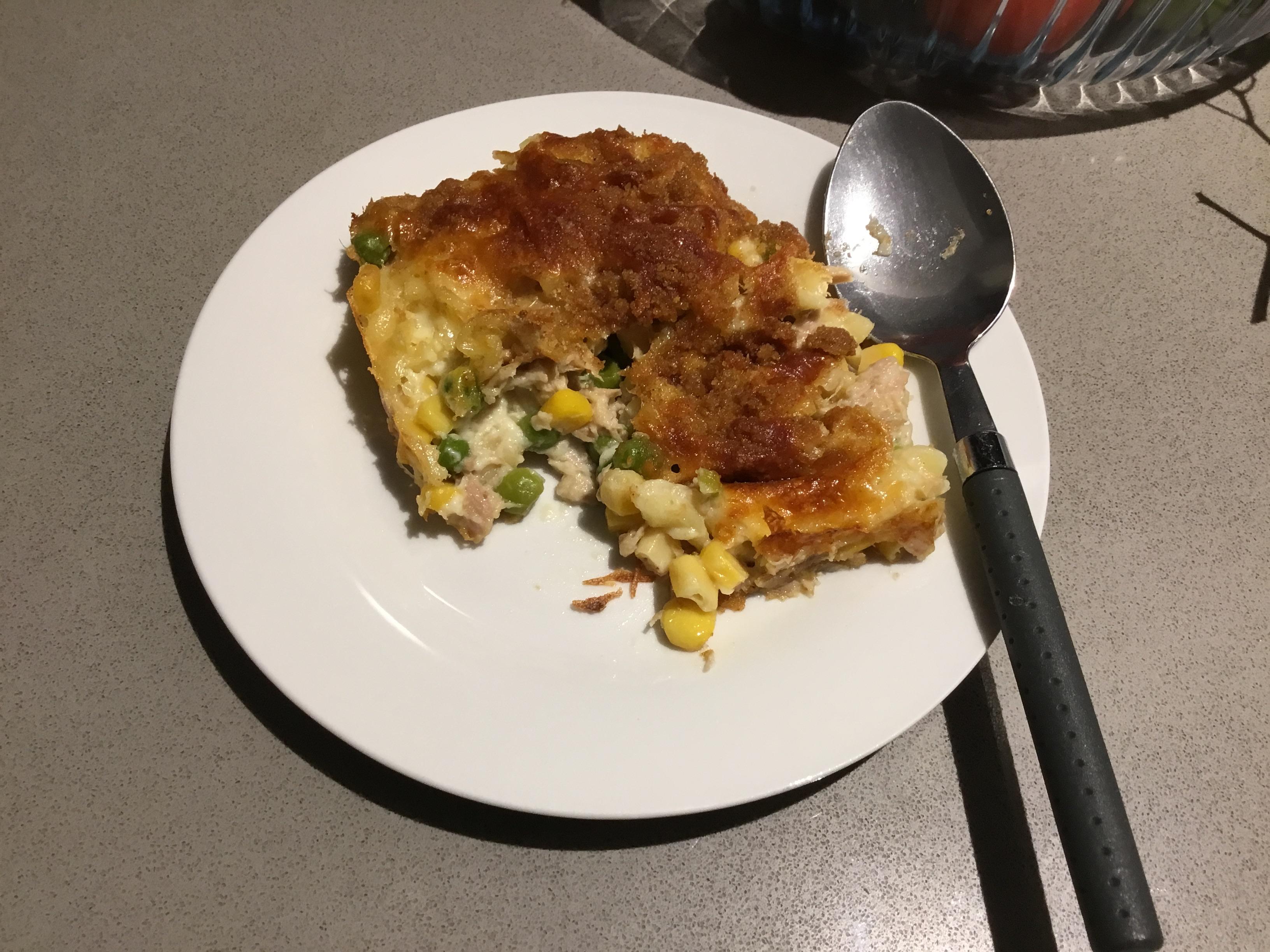 Cheesy Tuna Mornay Shahila Manorathne