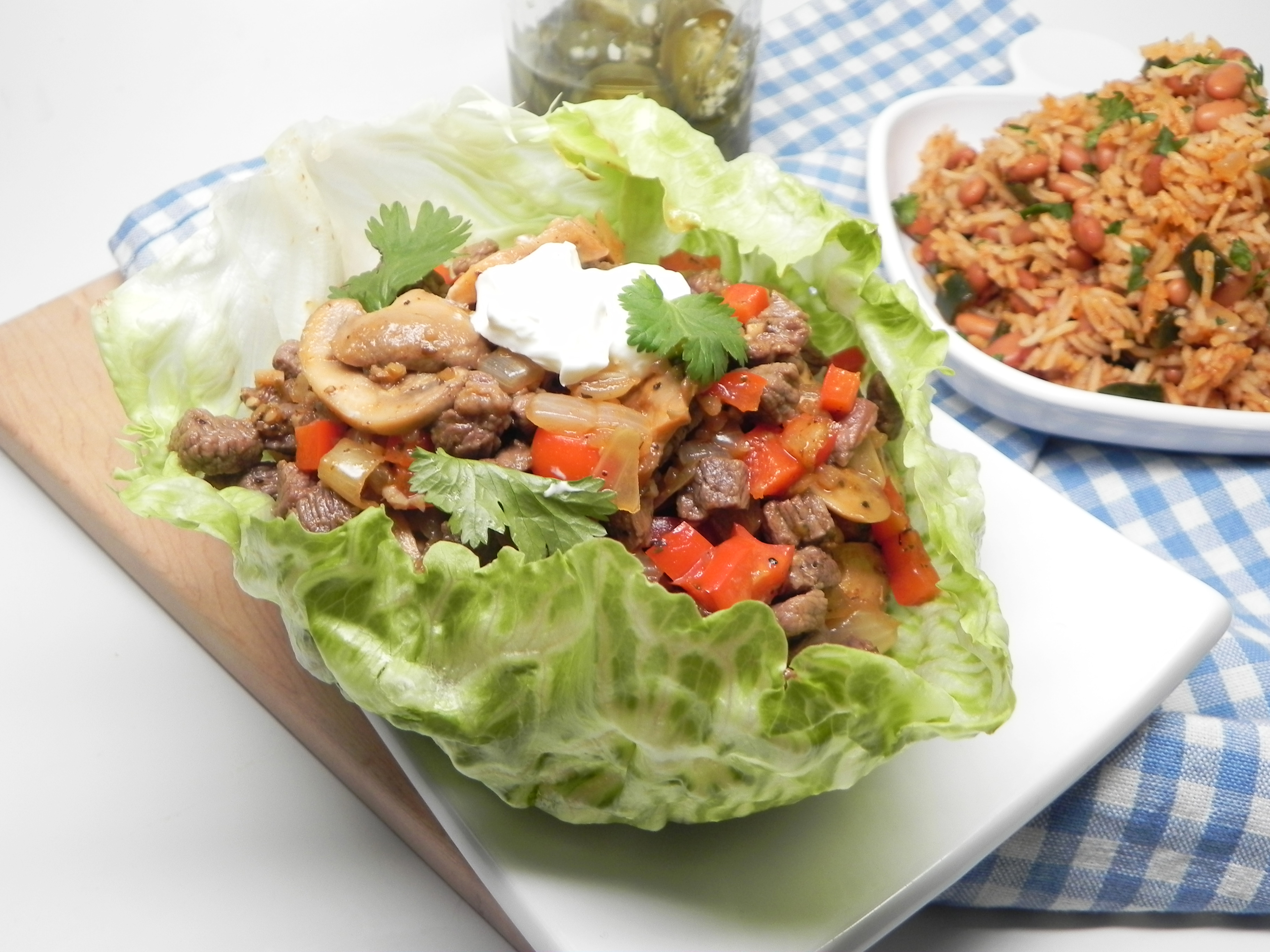 Fajita Lettuce Cups SerenaBloom