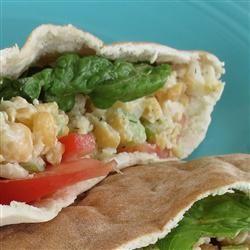 Vegetarian Chickpea Sandwich Filling linda2d