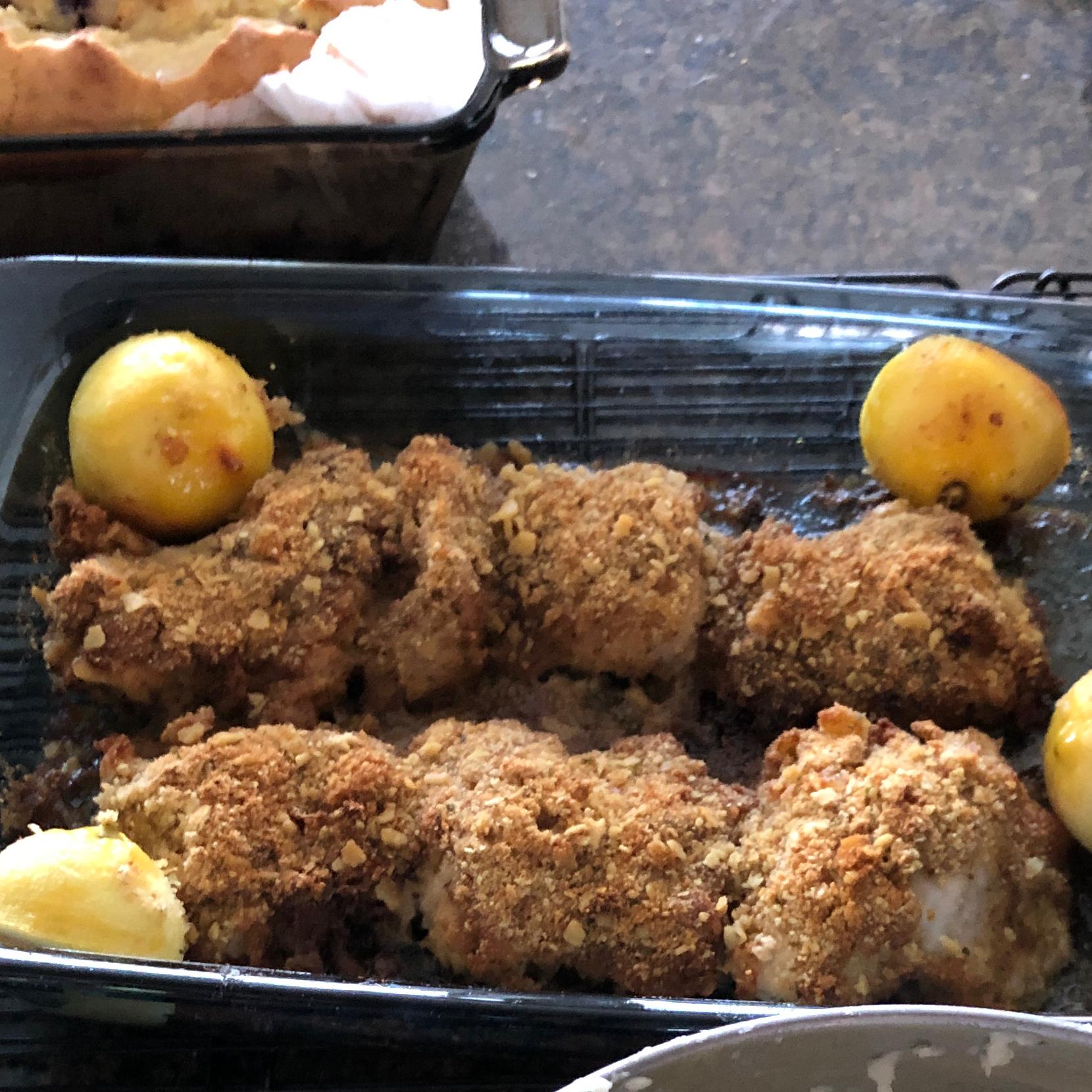 Mediterranean Crusted Chicken dcarey926
