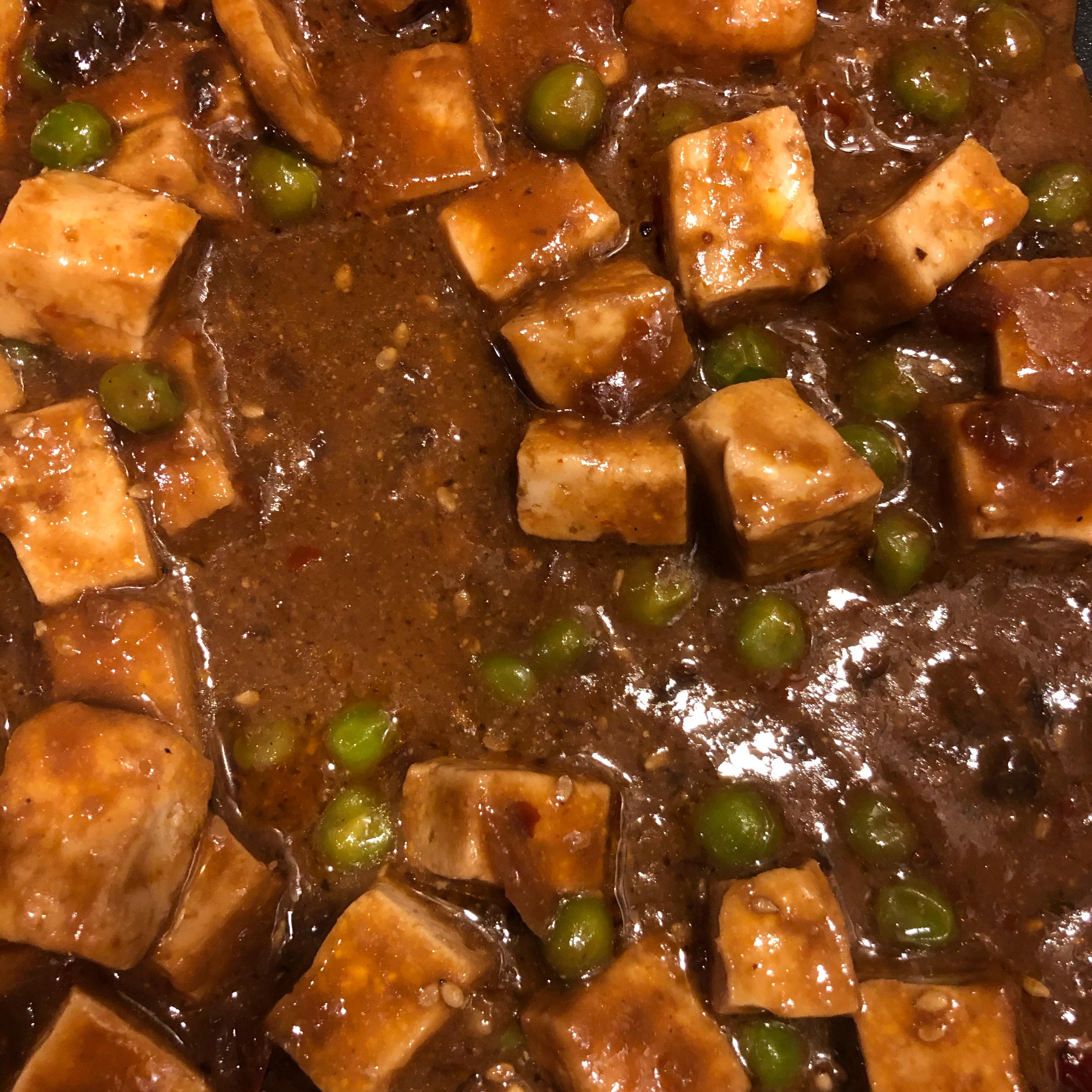Mapo Tofu (Microwave Recipe)
