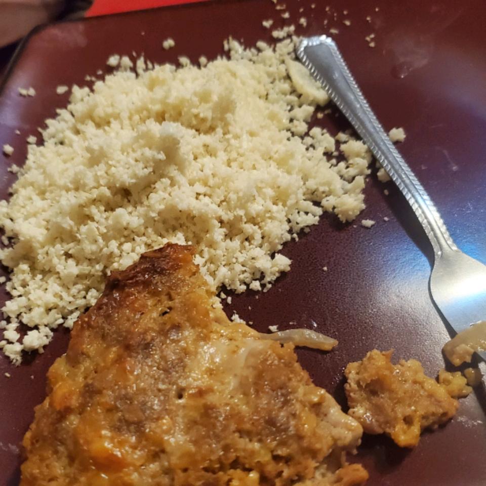 Roasted Cauliflower  Rice Felicia Pease