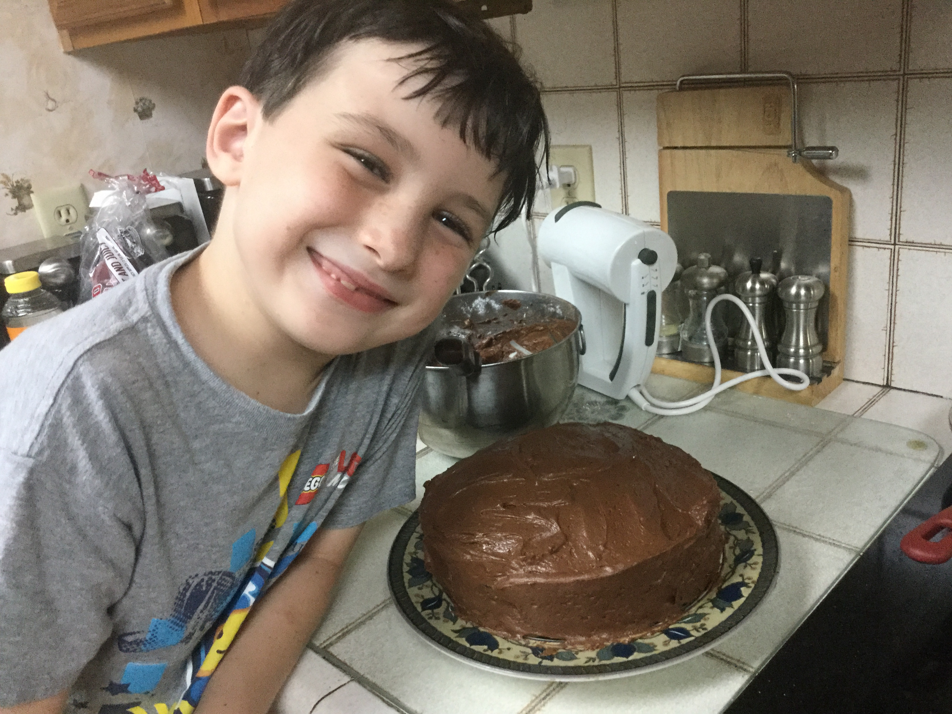 Homemade Chocolate Frosting My3Kings