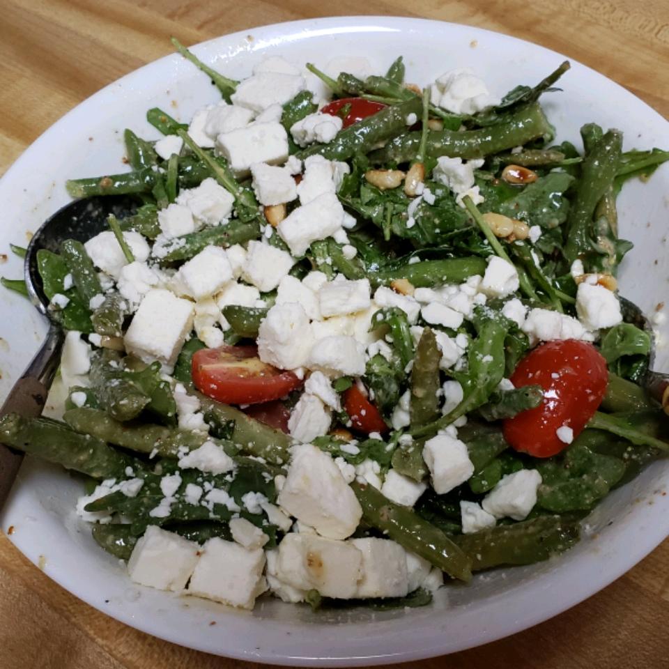 Feta and Slow-Roasted Tomato Salad with French Green Beans Rosemarie Yandoli-Smith