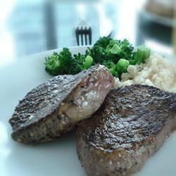 Flat Iron Steak with Three Pepper Rub Sophia Candrasa