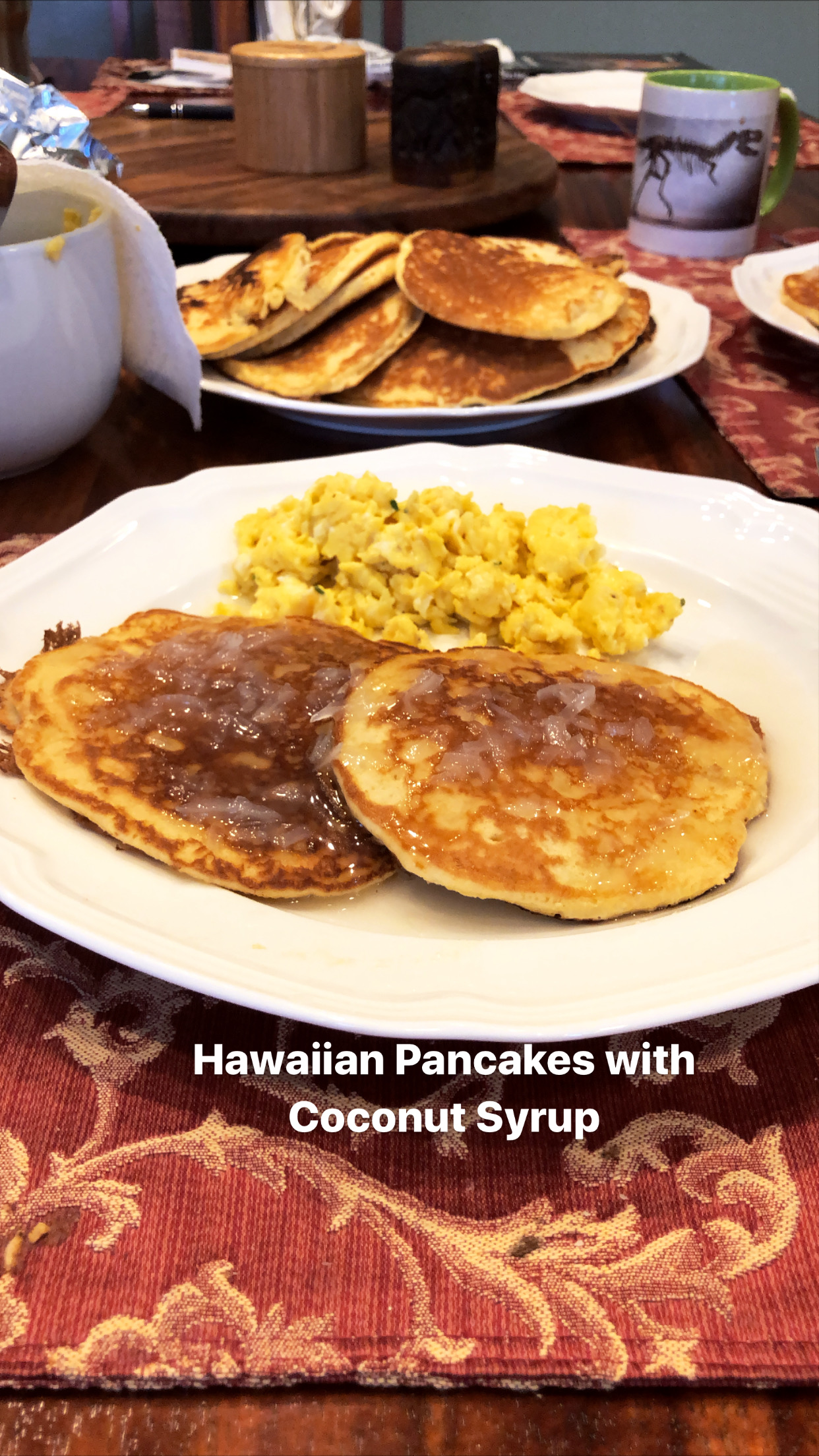 Coconut Pancake Syrup Mike