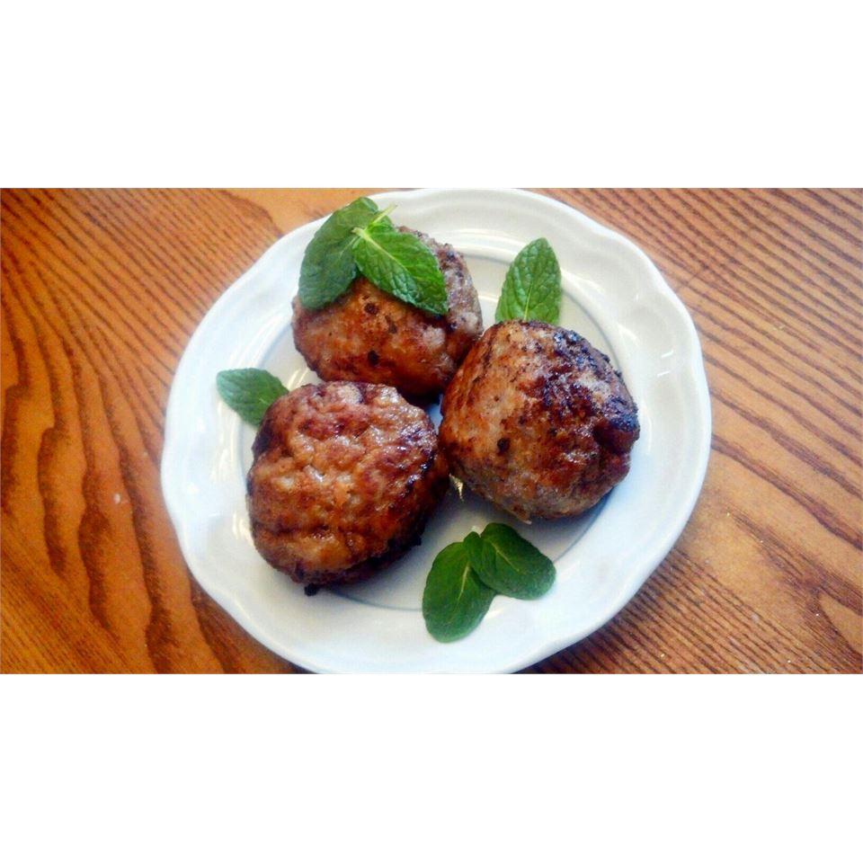 Margaret's Keftedes (Greek Meatballs) Jesia