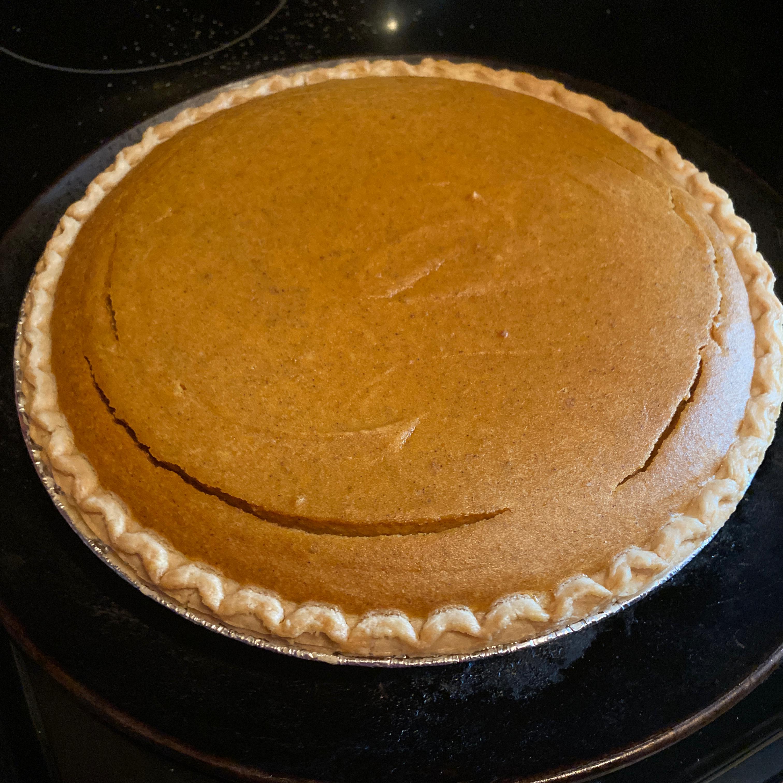 Pumpkin Cheesecake Pie Sabrina Barnes