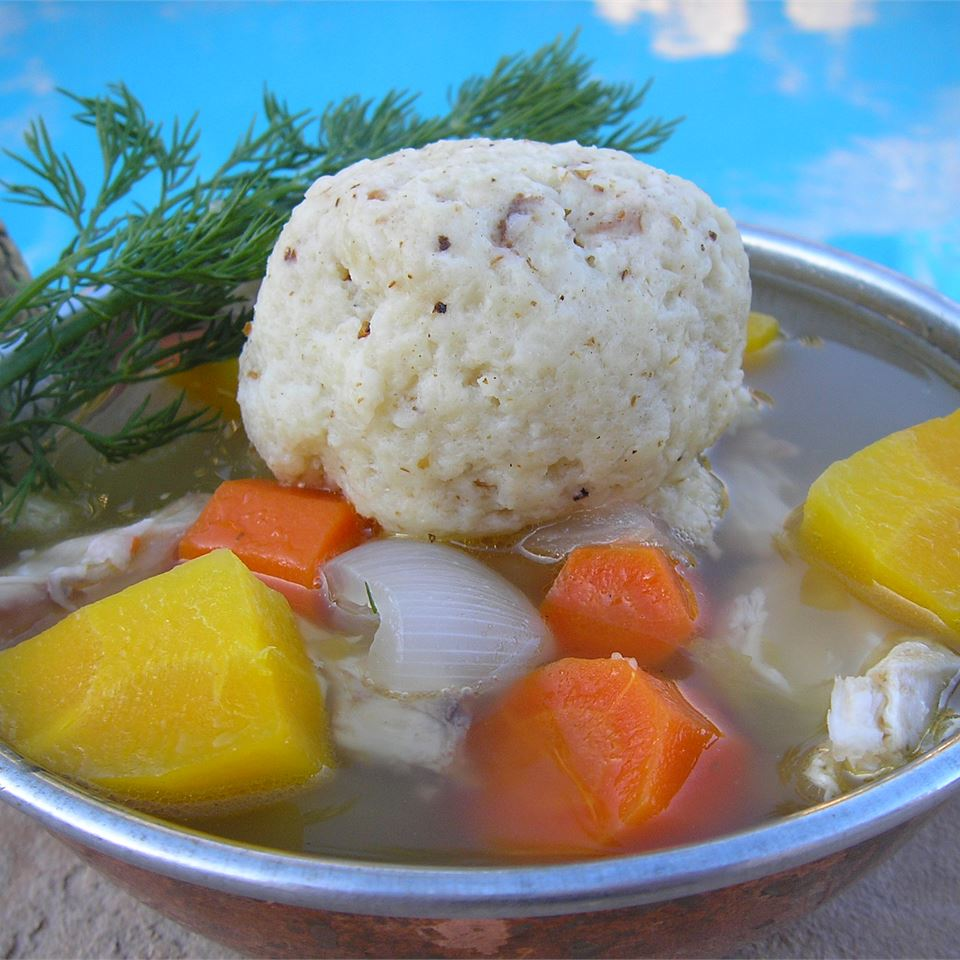 Angel Family Chicken Soup with Matzo Balls mauigirl