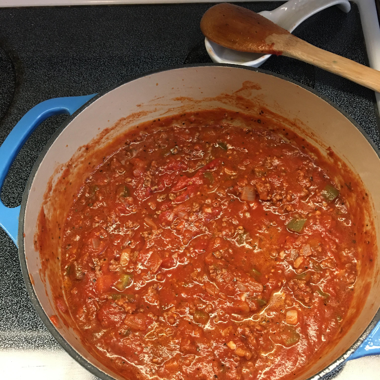 Spaghetti Sauce with Ground Beef