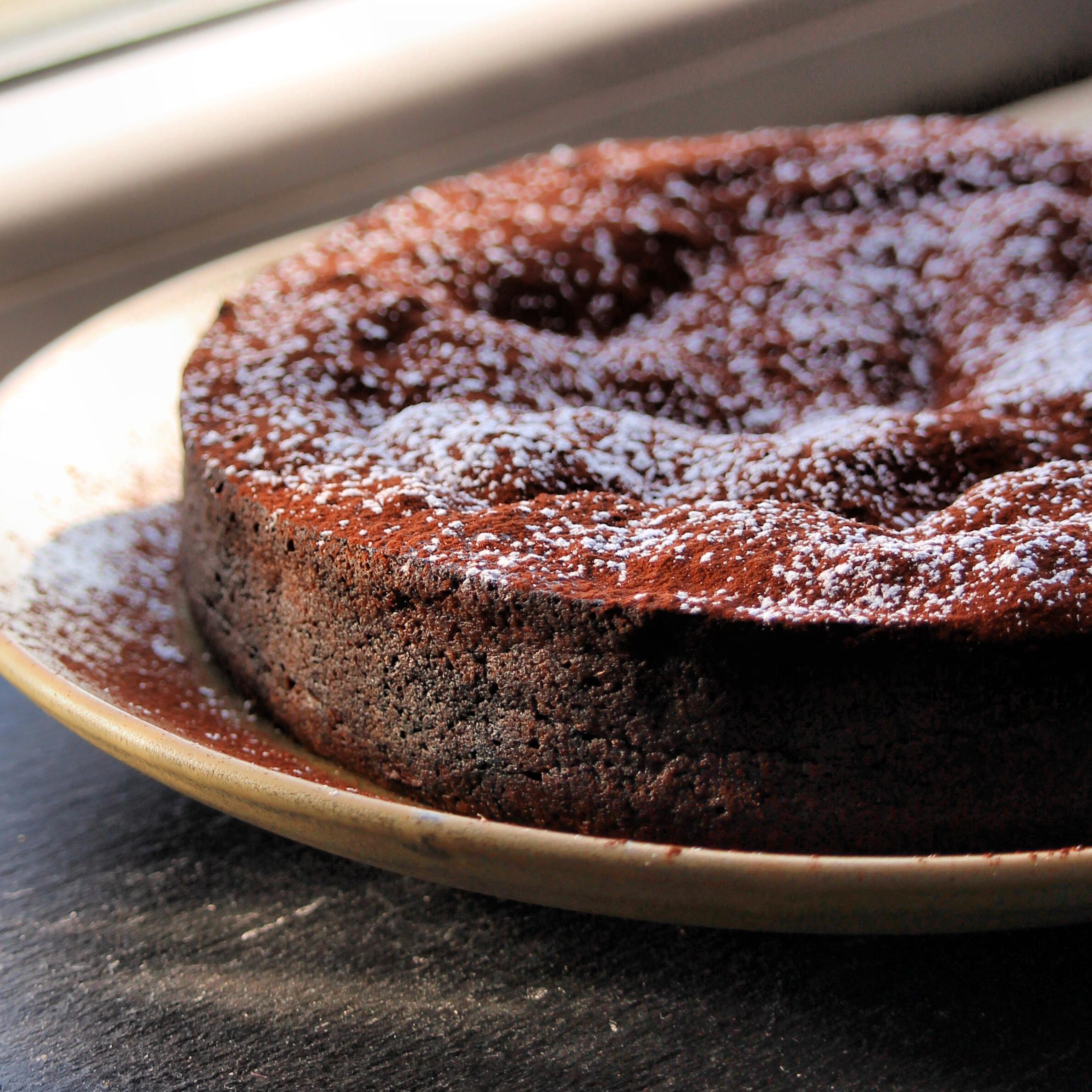 Instant Pot® Torta Caprese (Italian Flourless Chocolate-Almond Cake) Buckwheat Queen