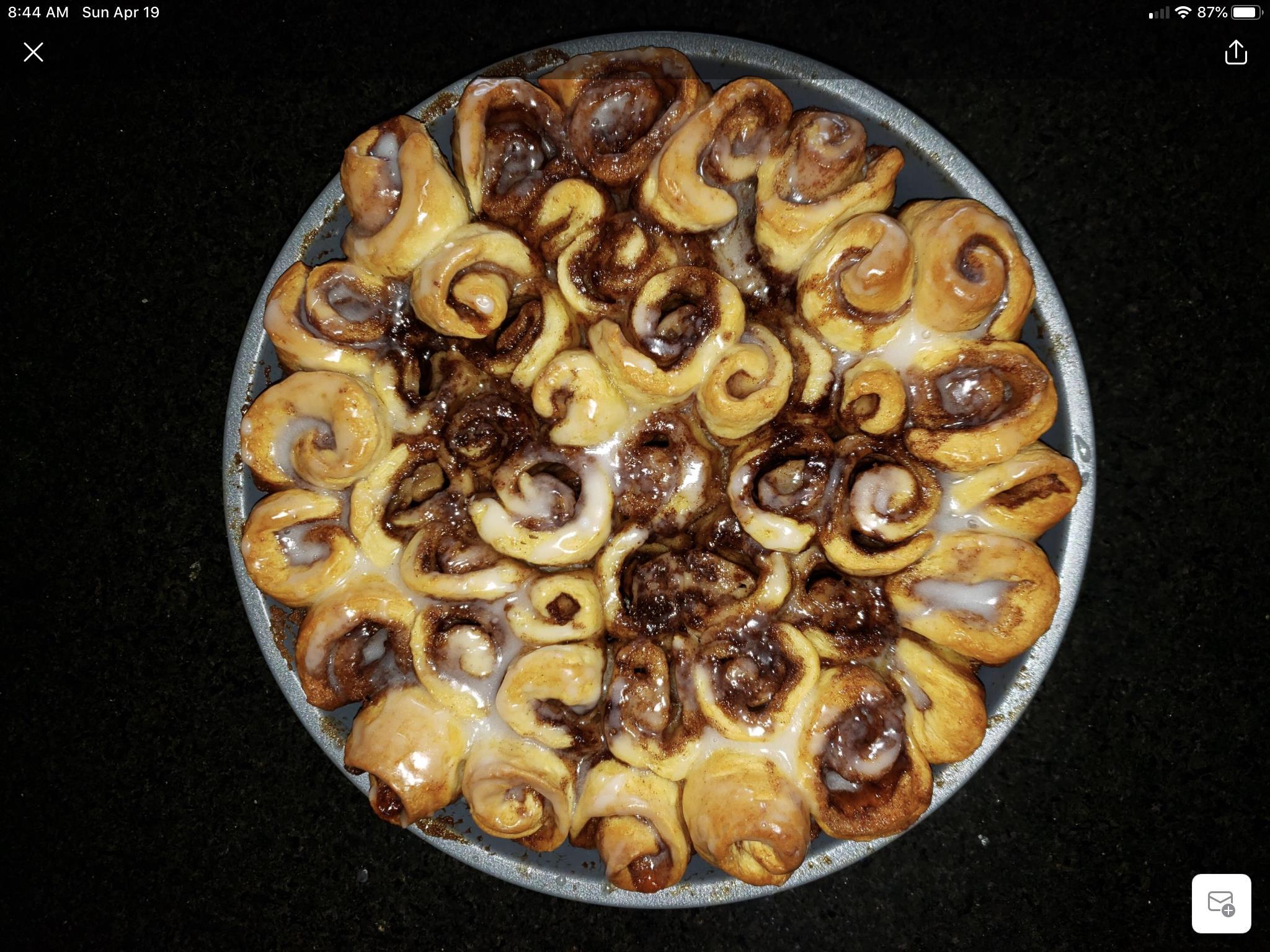 Biscuit Cinnamon Rolls Duane Canter