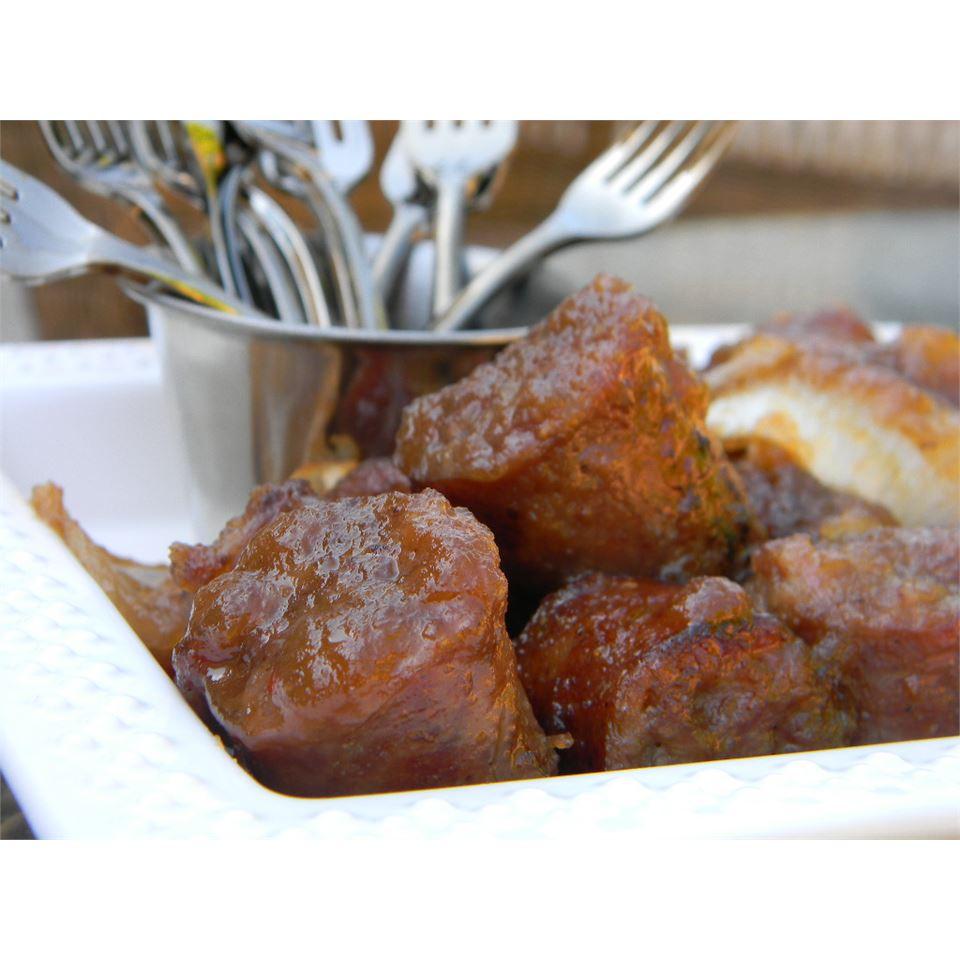 Sausage Applesauce Appetizer Baking Nana