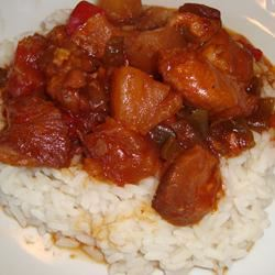 Slow Cooker Sweet and Sour Chicken Paula