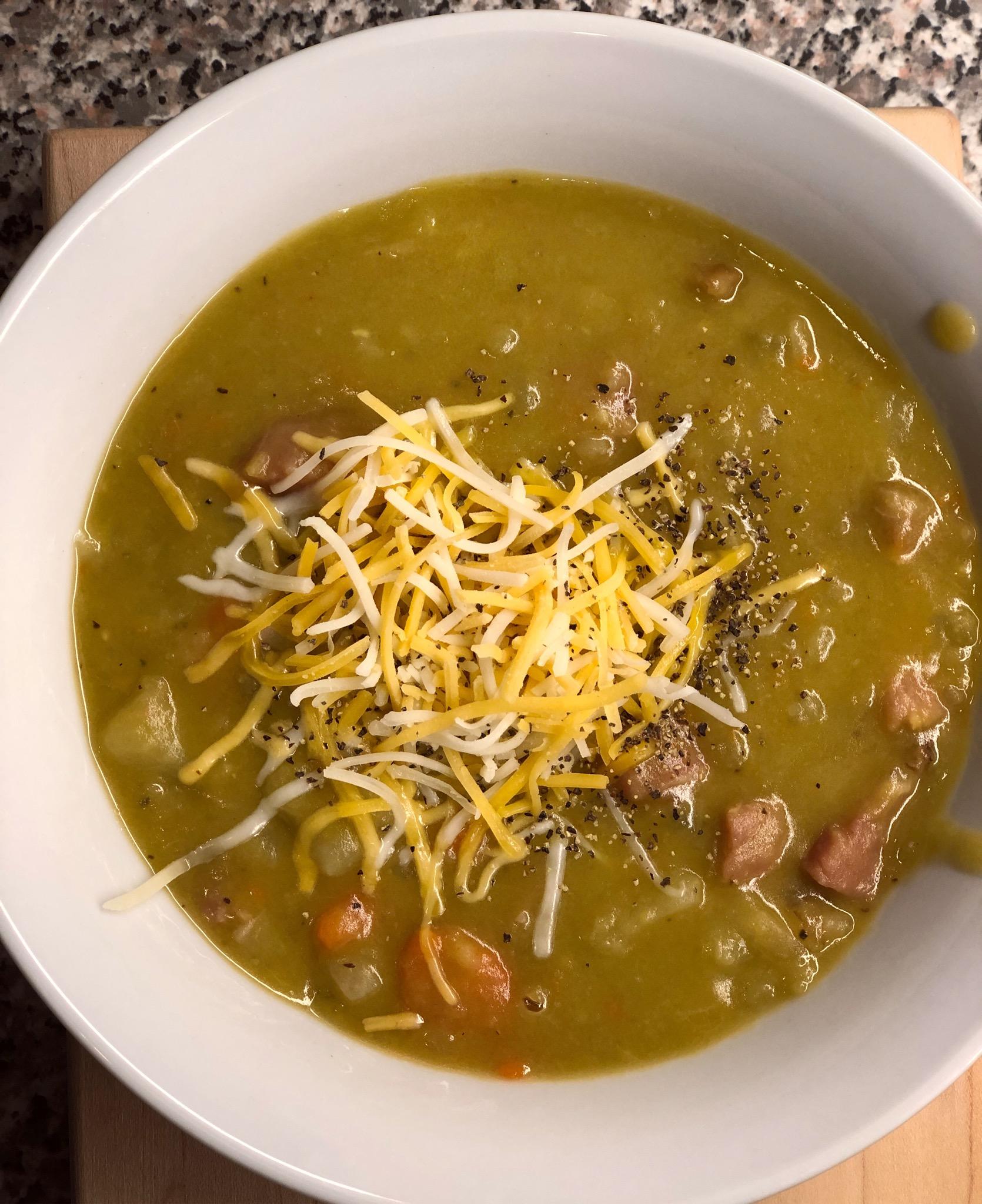 Instant Pot® Split Pea and Ham Soup