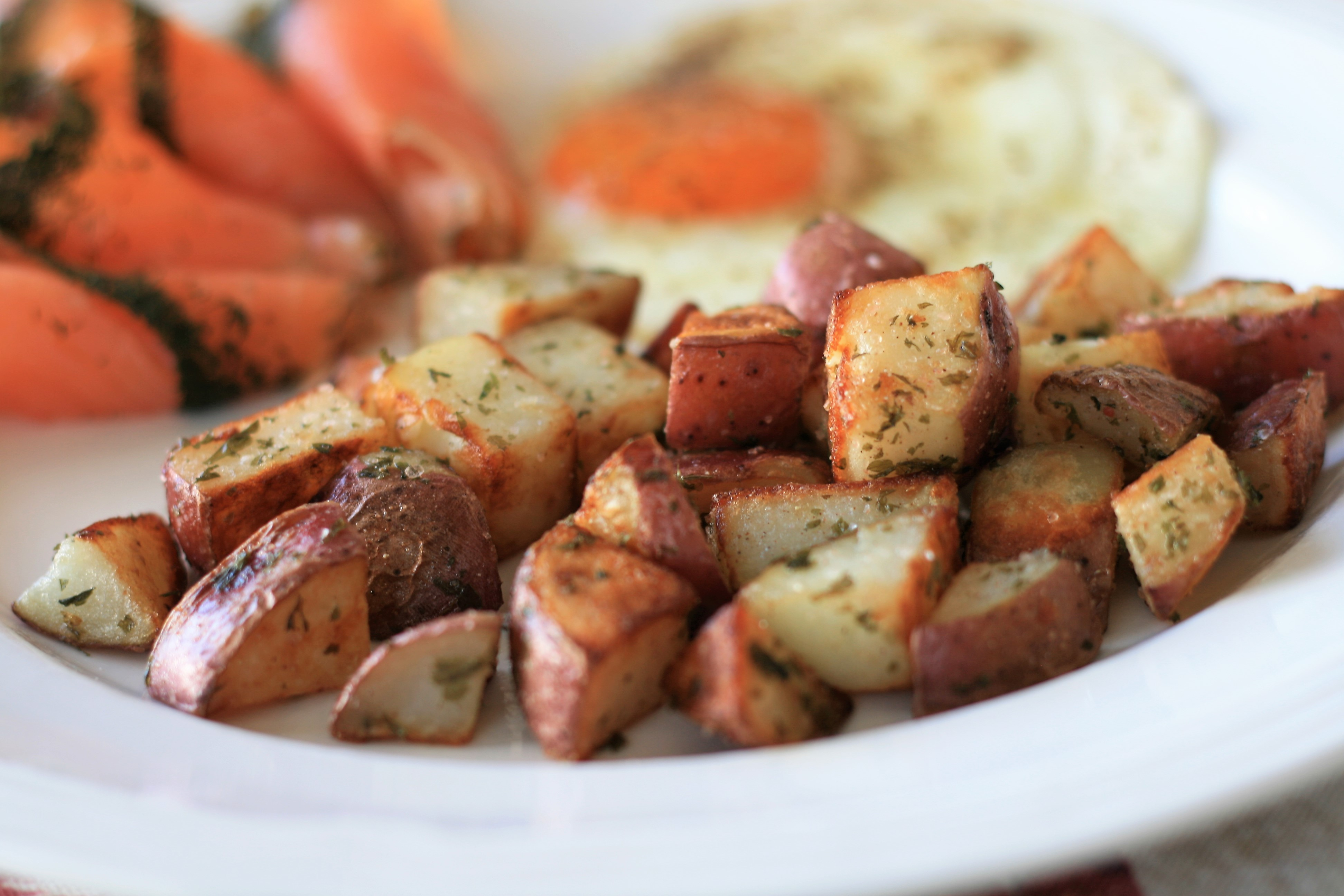 Pan-Roasted Red Potatoes France C