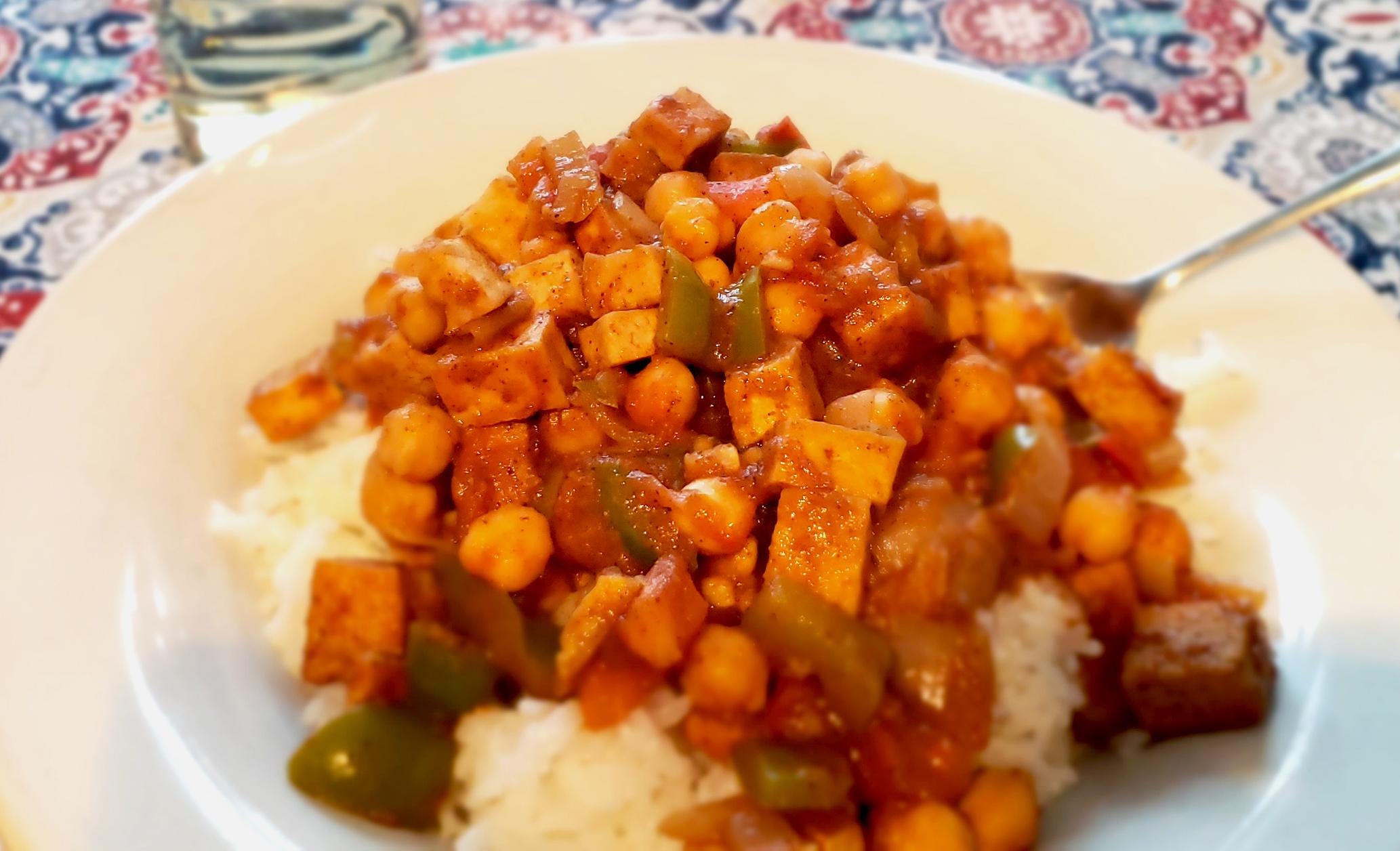Tofu Masala Eddie Merkel
