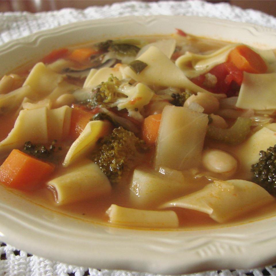 Spring Vegetable Soup Cookies