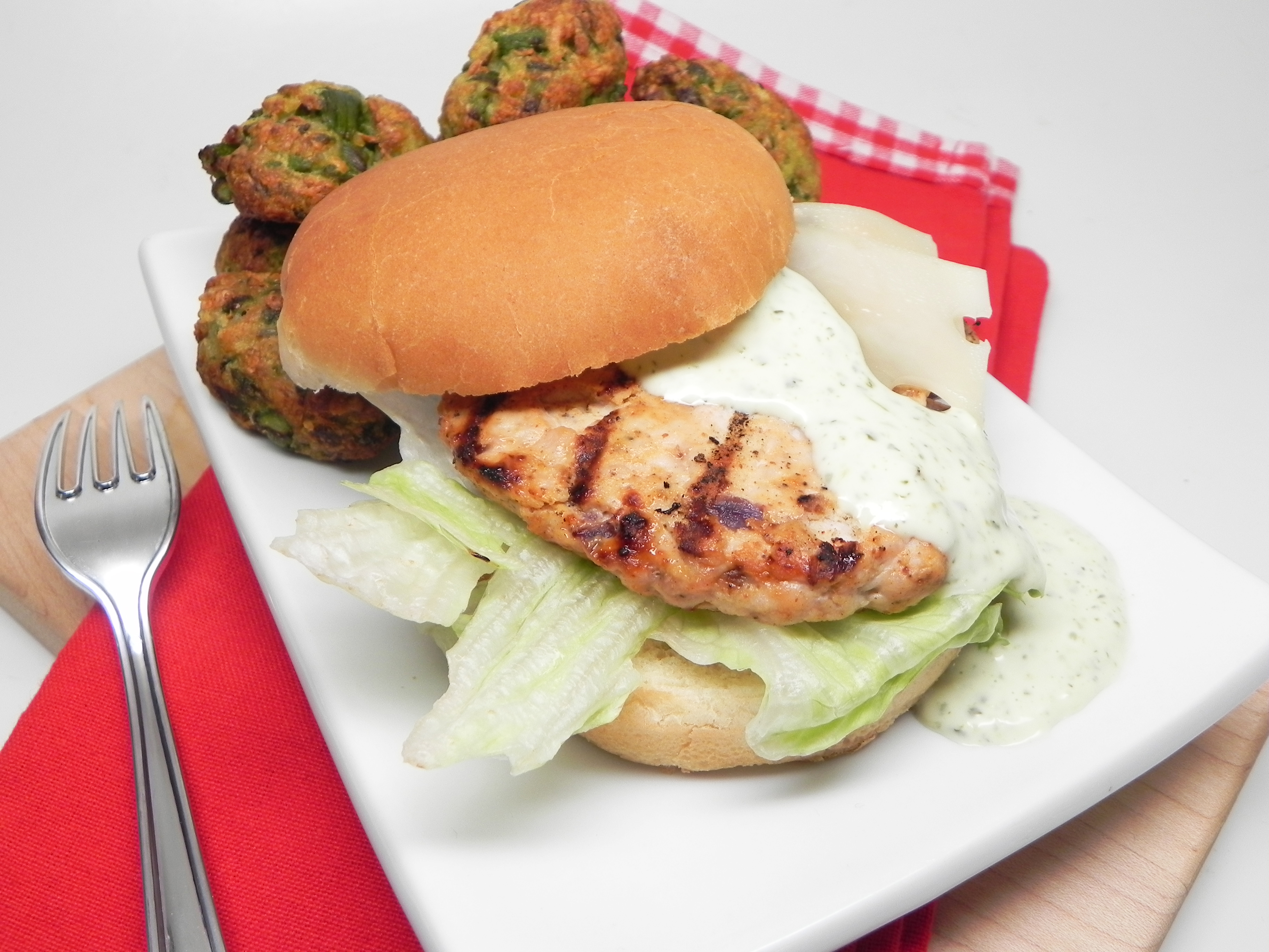 Delicious Grilled Turkey Burgers