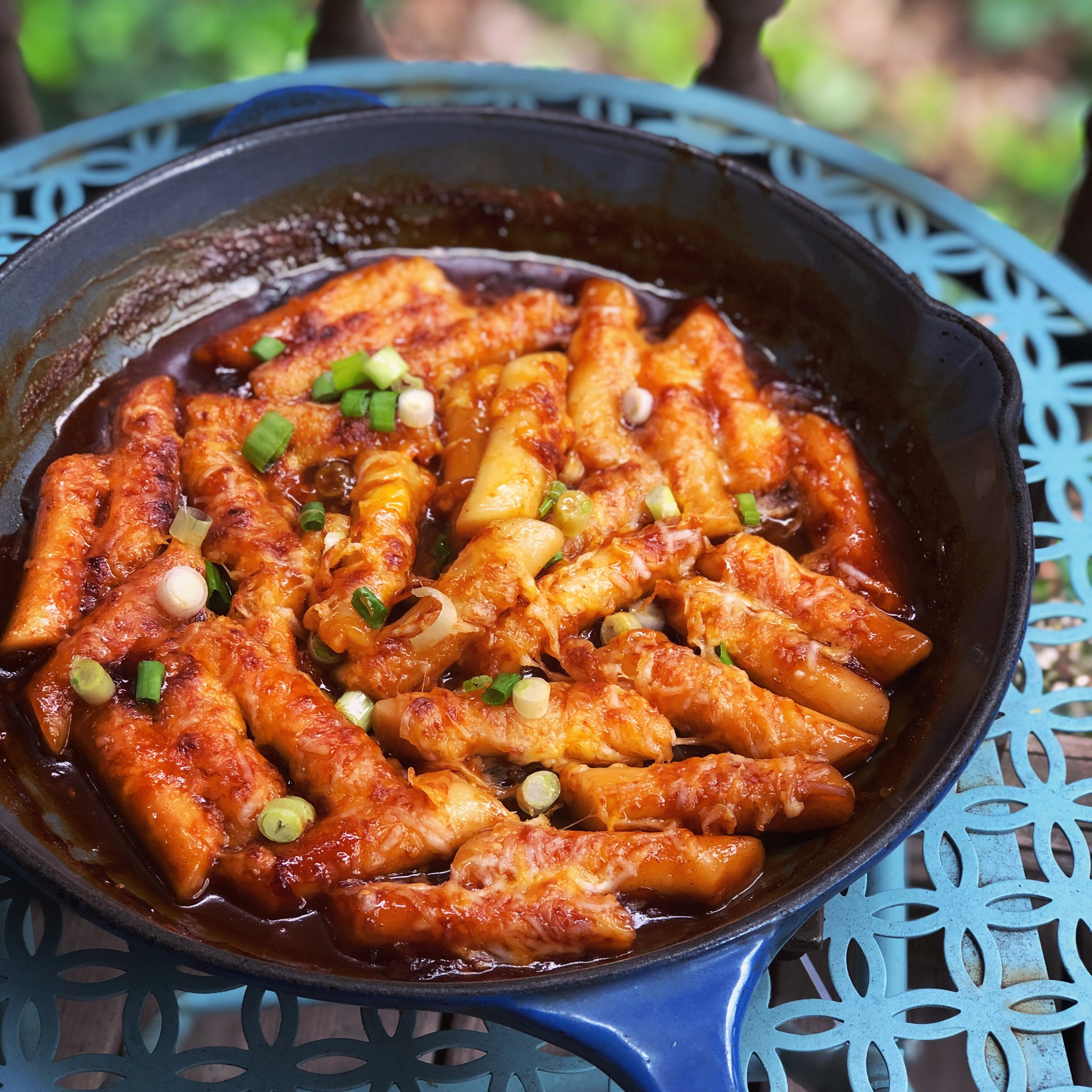 Tteokbokki Korean Spicy Rice Cakes Recipe Allrecipes