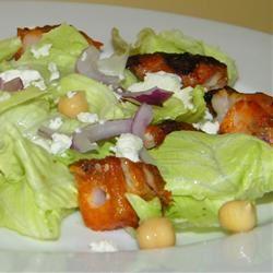 Grecian Lamb Caesar Salad