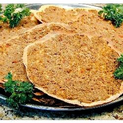 Lahmahjoon (Armenian Pizza) armo thugz 4 life
