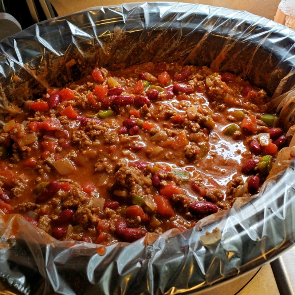 Slow Cooker Game Day Chili Ashley Caplinger