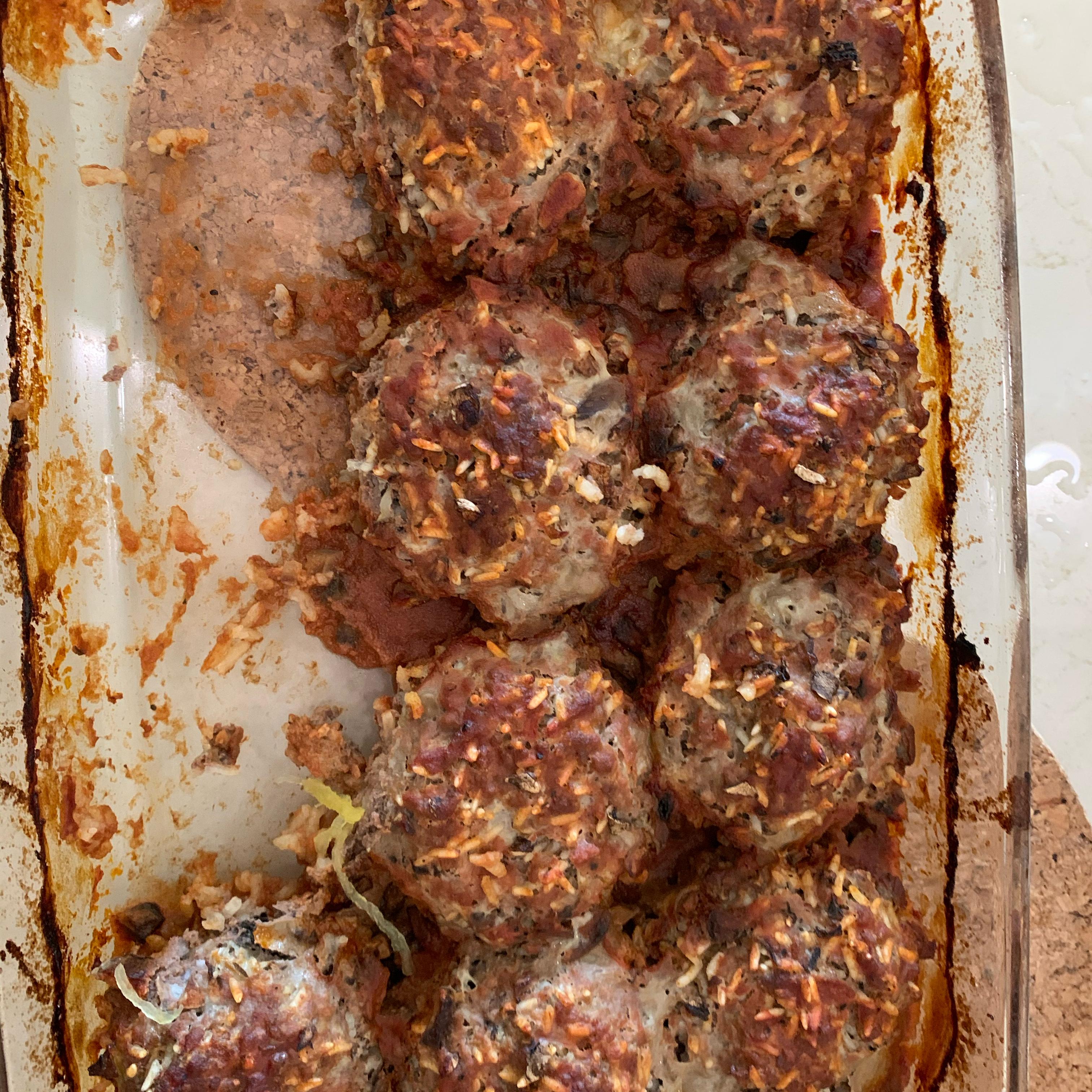 Melinda's Porcupine Meatballs