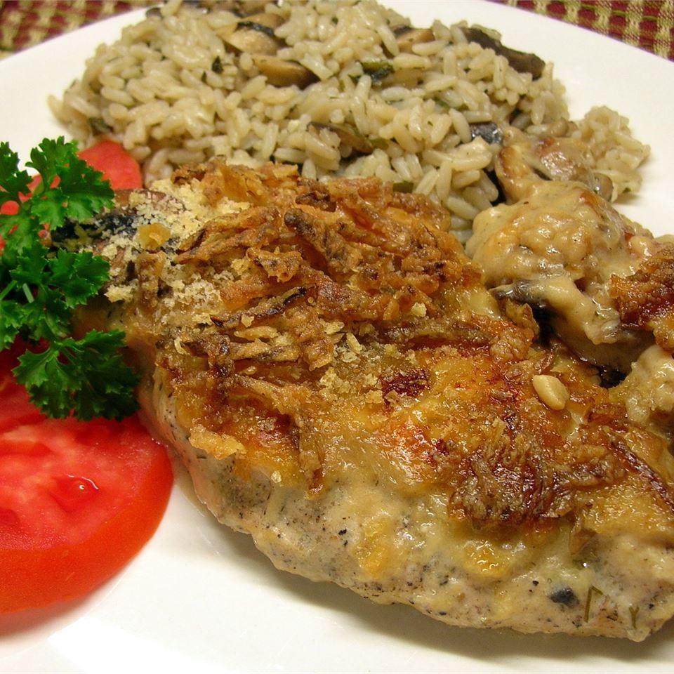 Swiss Sherry Chicken