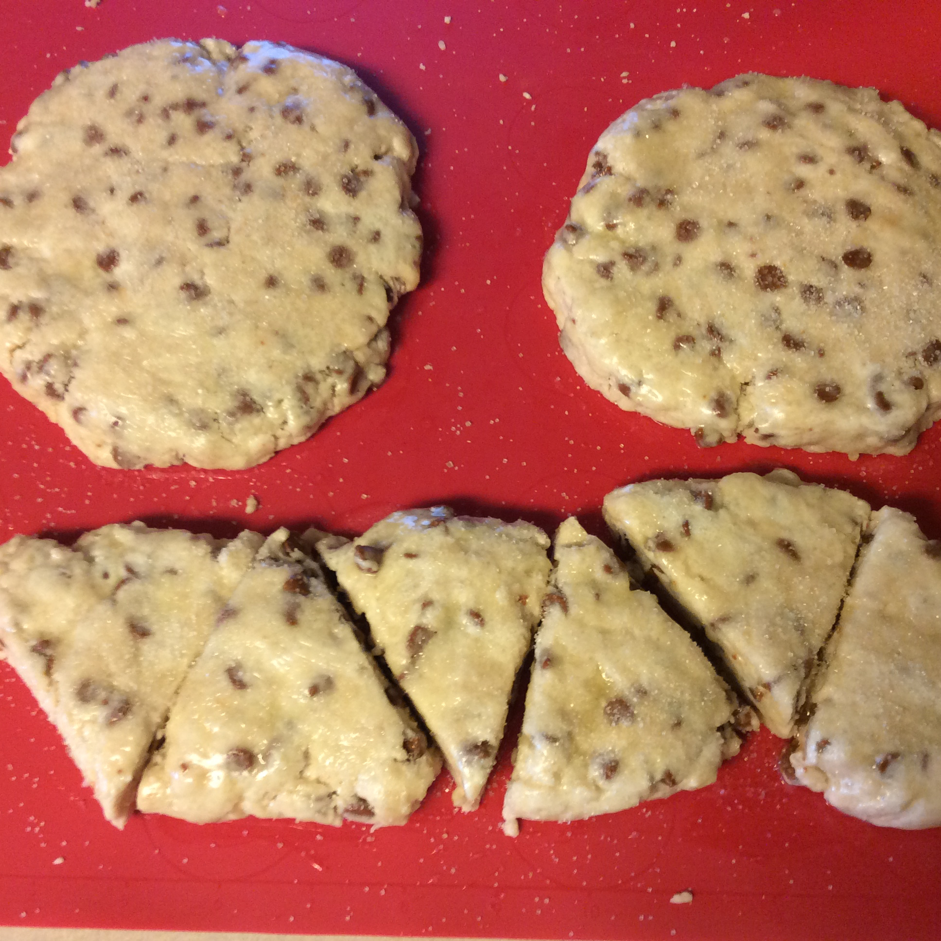 Easy Cinnamon Chip Scones KathyHays
