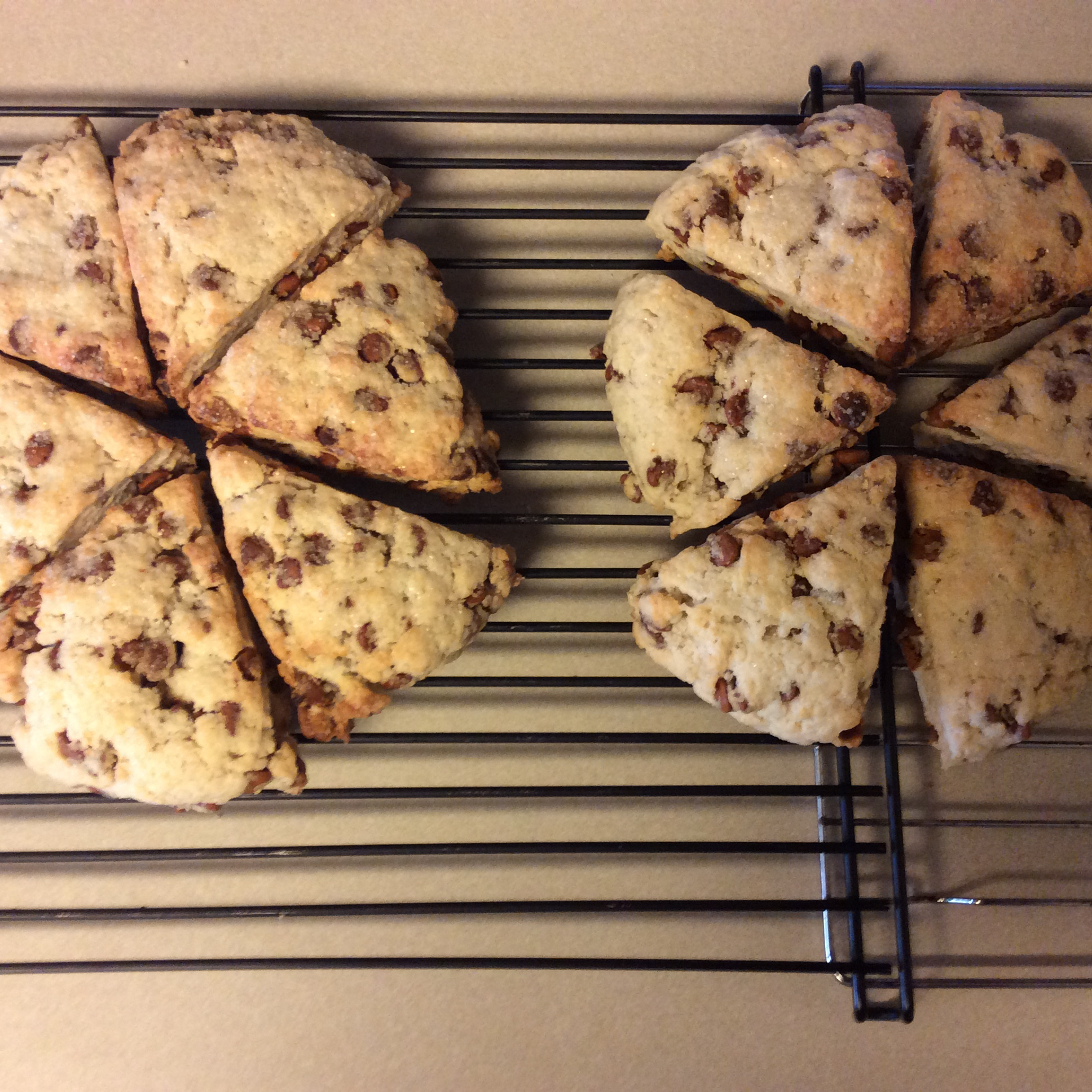 Easy Cinnamon Chip Scones