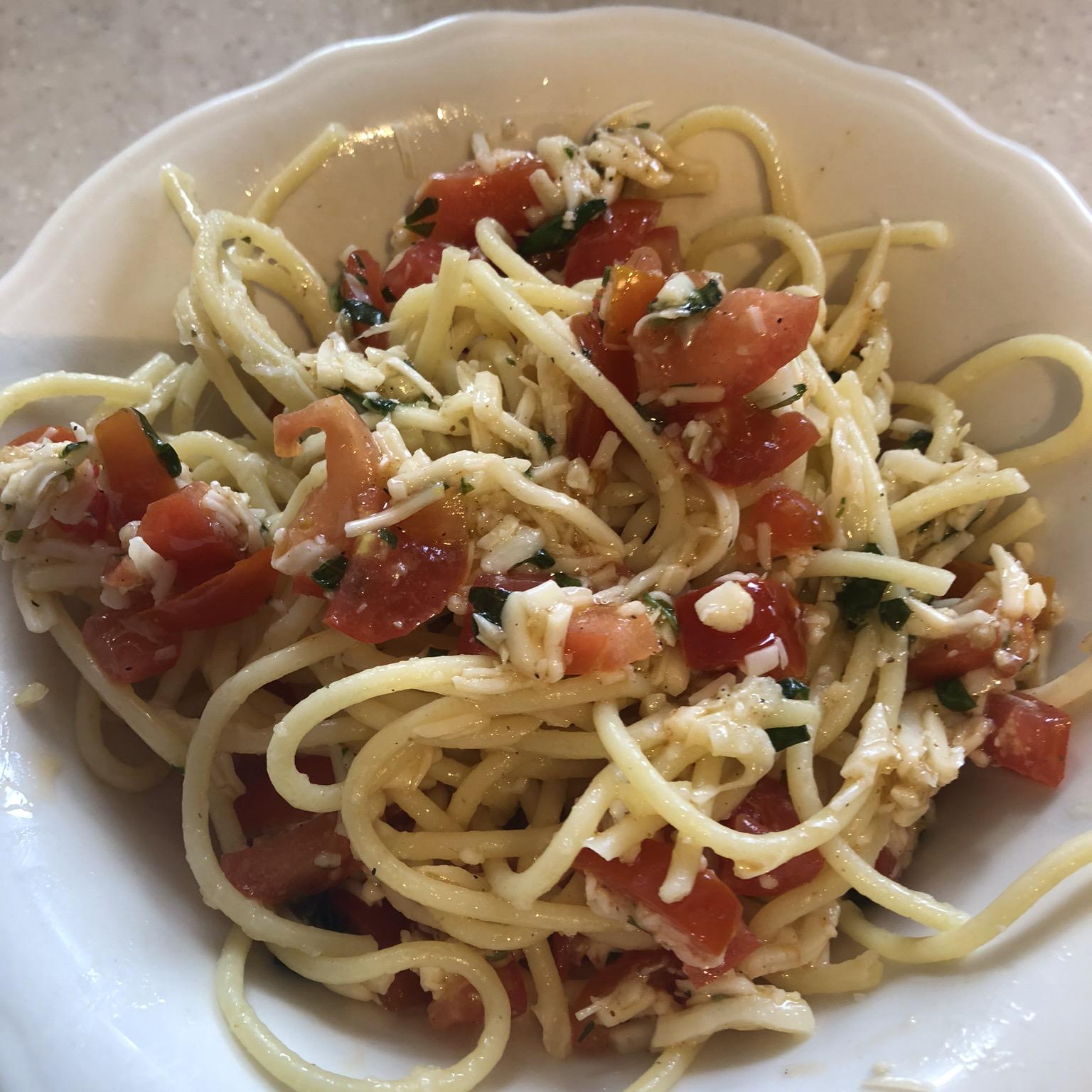 Tony's Summer Pasta Abbie