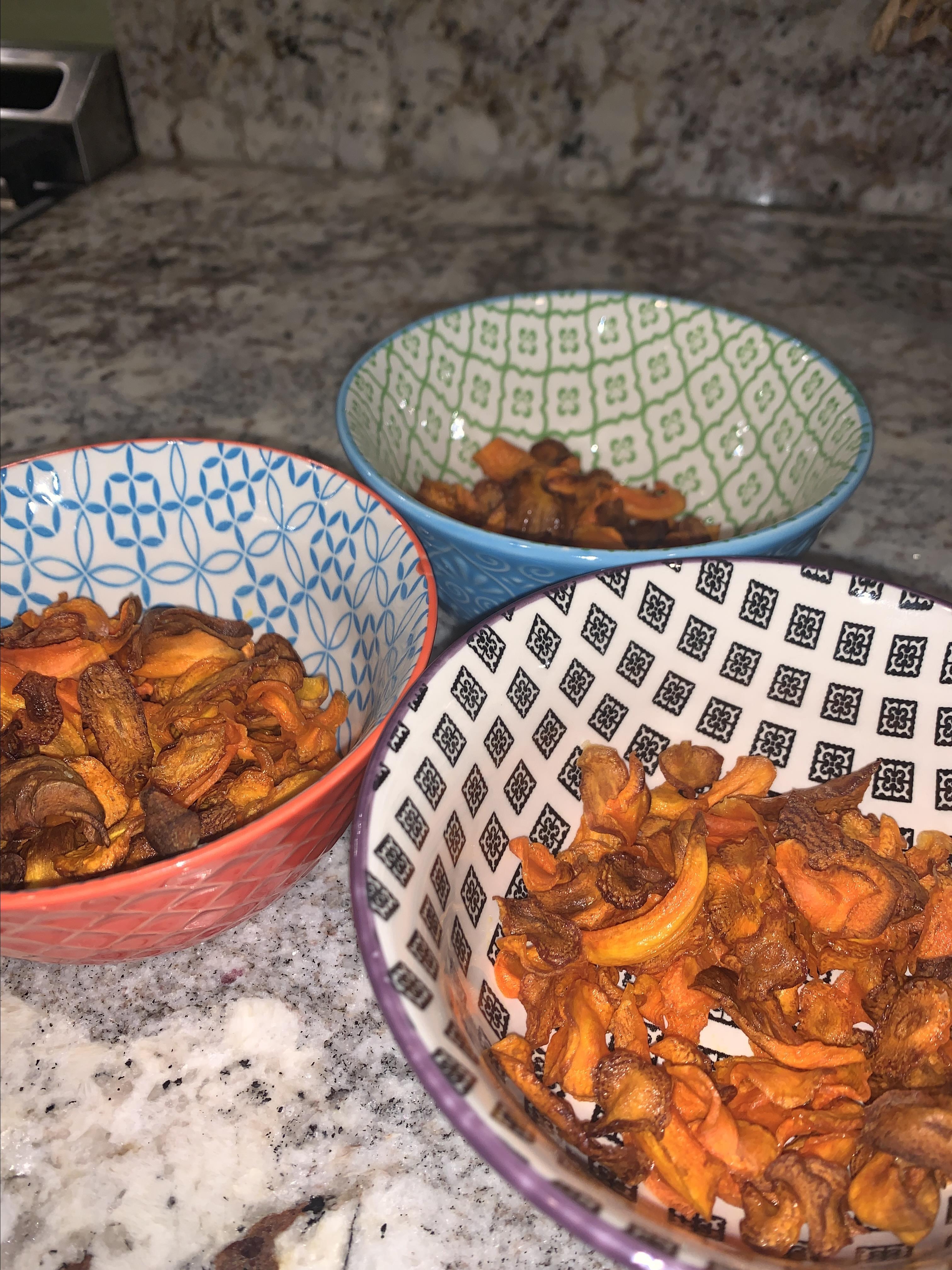 Carrot Chips Meliss Ew