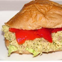 Carrie's Garlic Pesto Tuna Salad Sandwiches GodivaGirl