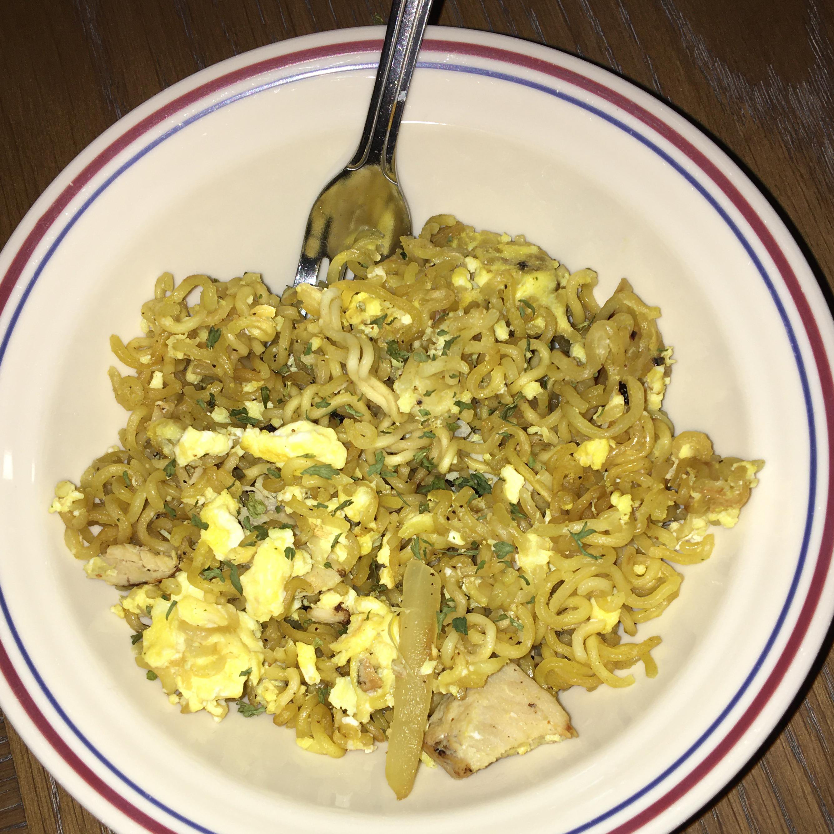 Ramen Scrambled Eggs